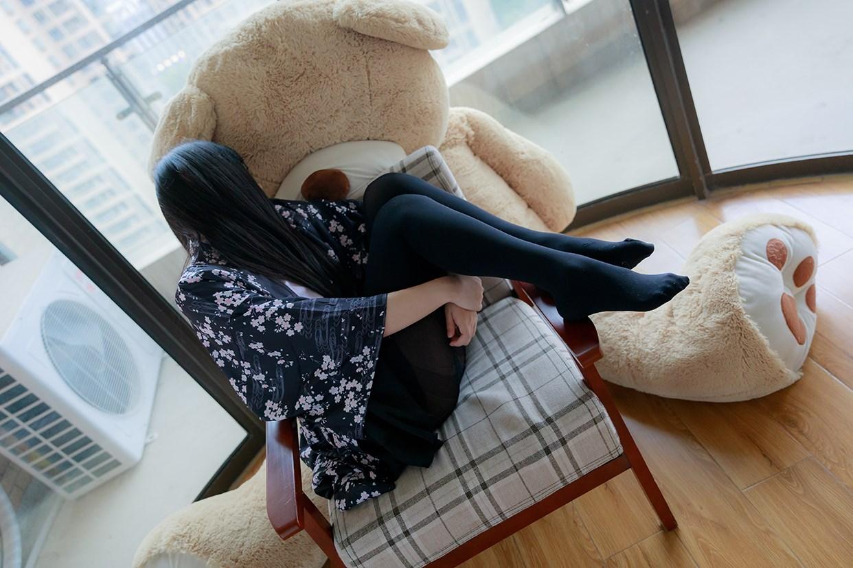 【兔玩映画】椅上的黑丝少女 兔玩映画 第42张