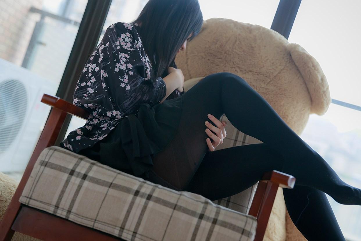 【兔玩映画】椅上的黑丝少女 兔玩映画 第38张