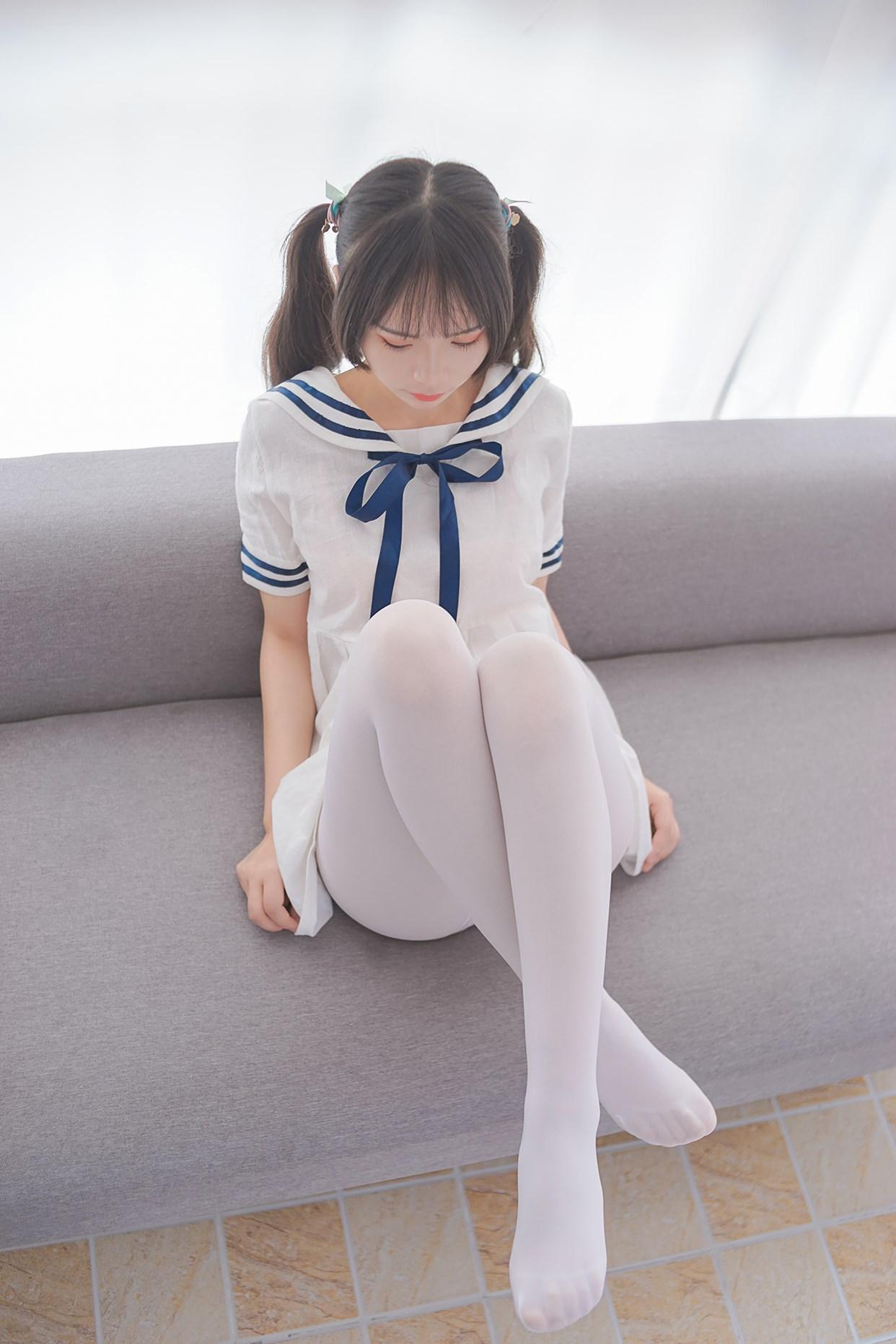 【兔玩映画】白丝喵喵 兔玩映画 第1张