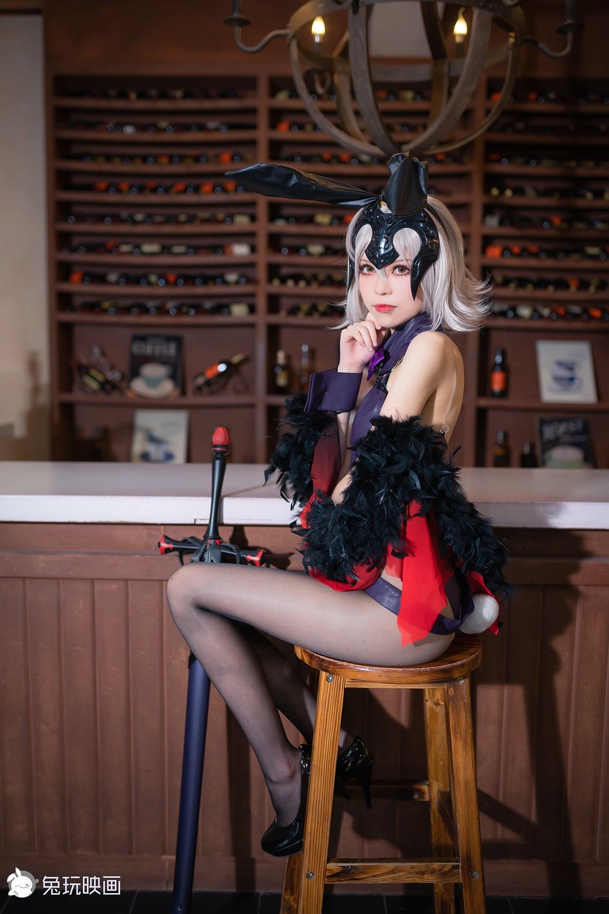 【兔玩映画】兔女郎vol.13-贞德 兔玩映画 第1张