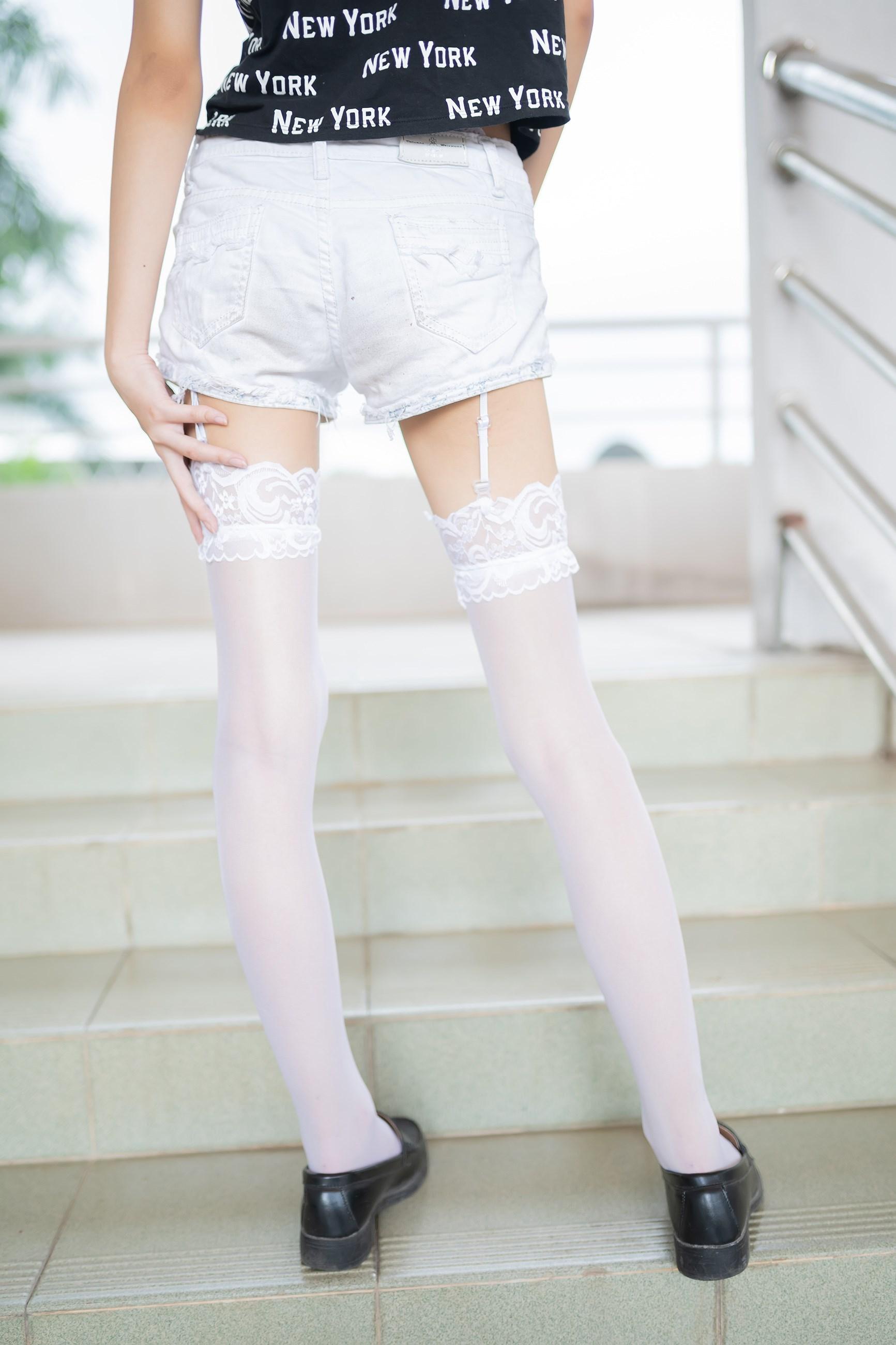 【兔玩映画】白丝吊带袜 兔玩映画 第46张