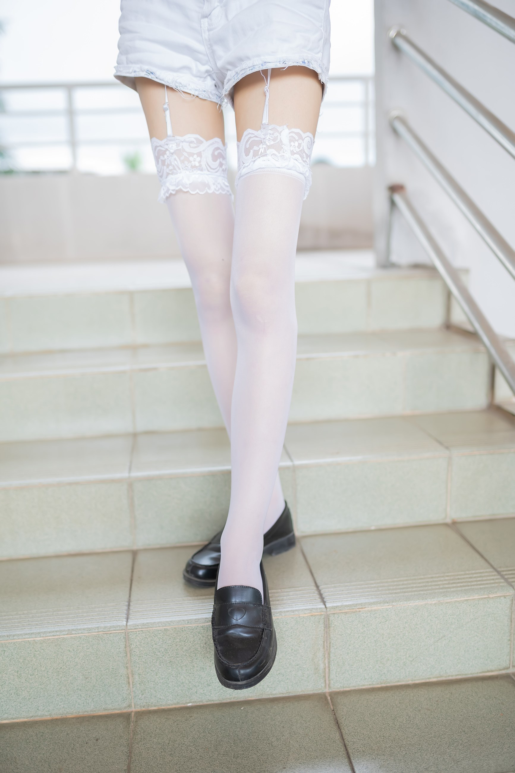 【兔玩映画】白丝吊带袜 兔玩映画 第44张