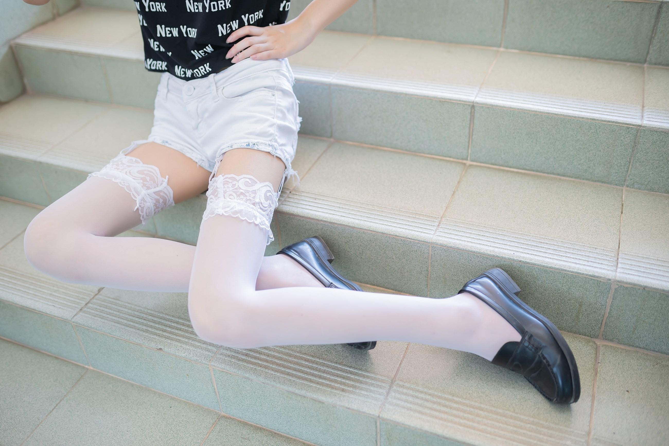 【兔玩映画】白丝吊带袜 兔玩映画 第31张
