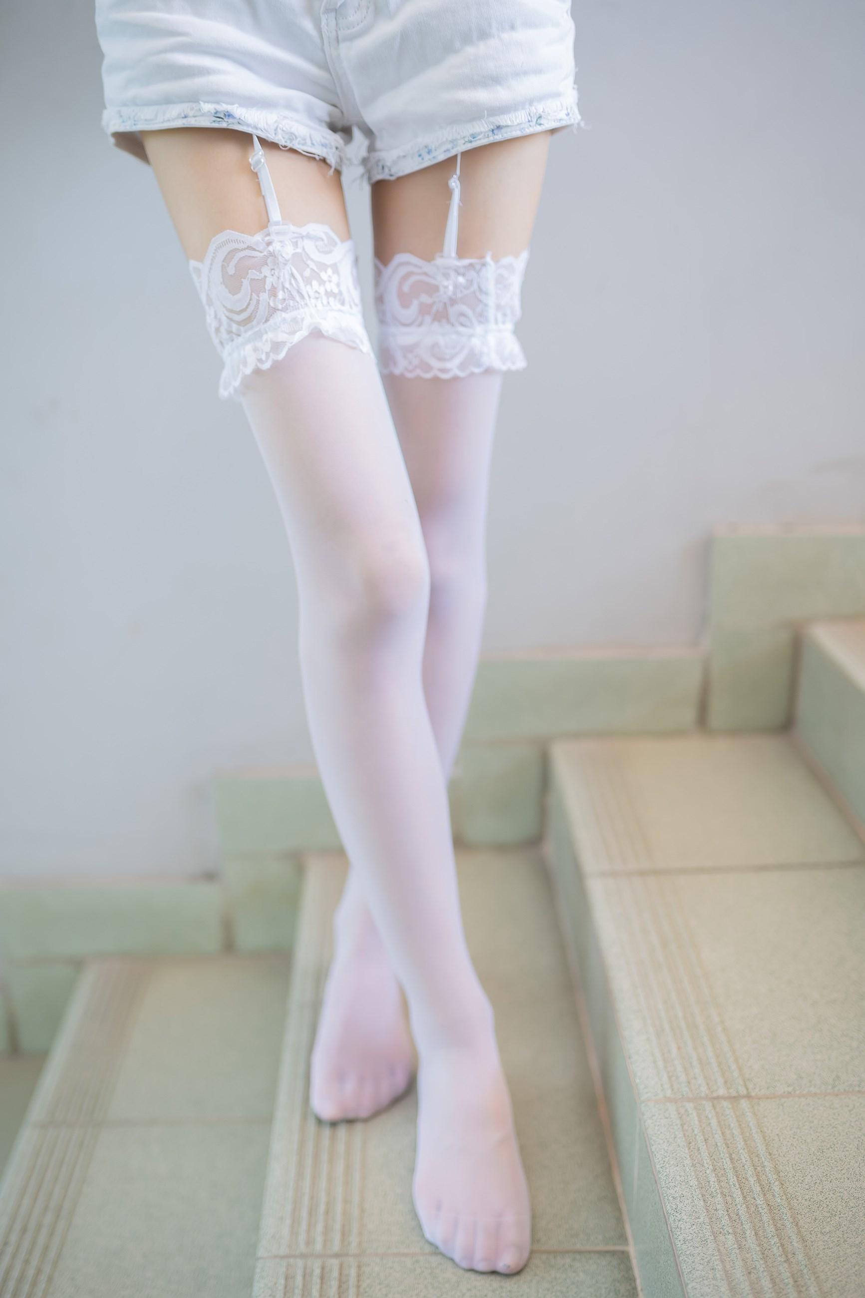 【兔玩映画】白丝吊带袜 兔玩映画 第24张