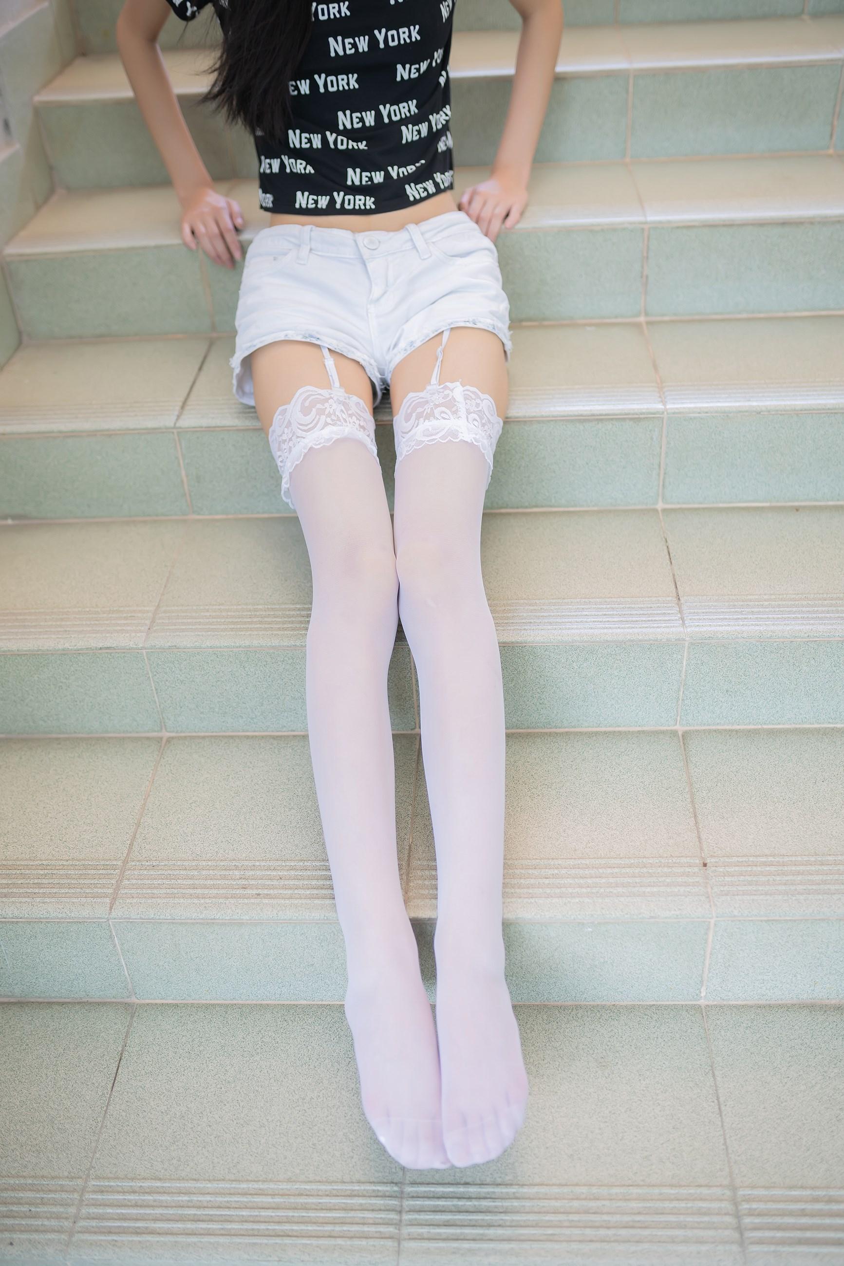 【兔玩映画】白丝吊带袜 兔玩映画 第18张