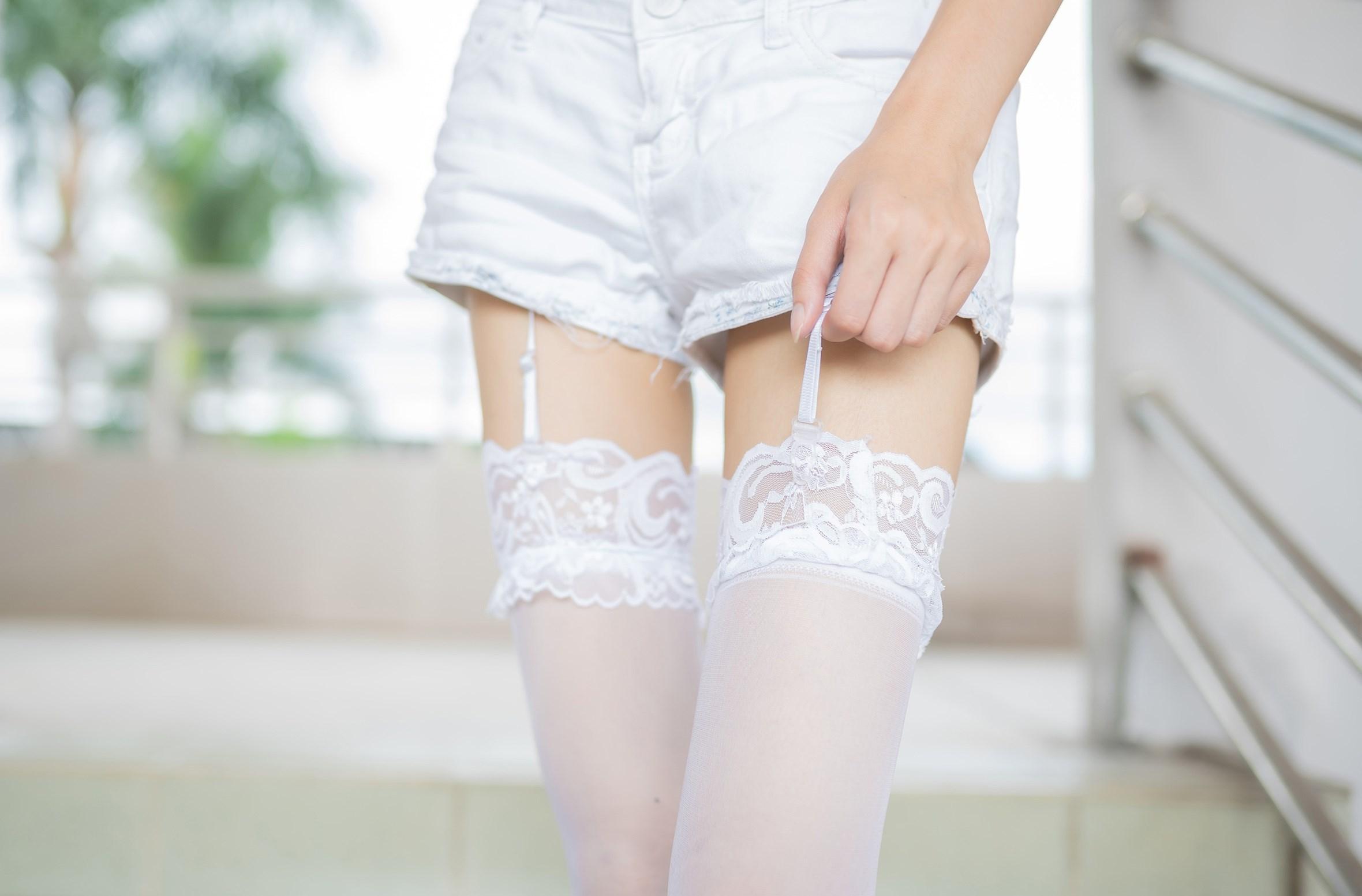 【兔玩映画】白丝吊带袜 兔玩映画 第45张