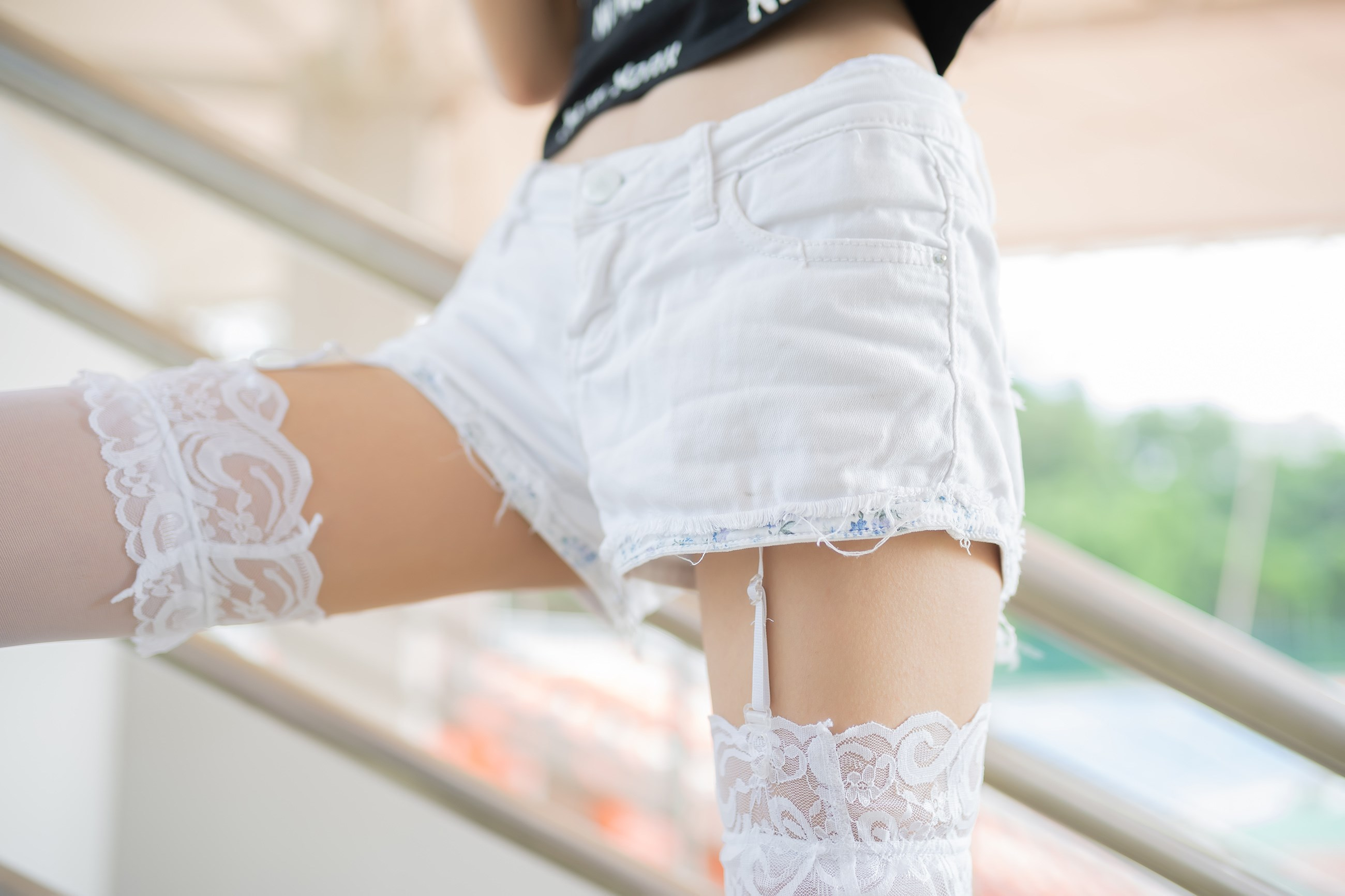 【兔玩映画】白丝吊带袜 兔玩映画 第37张