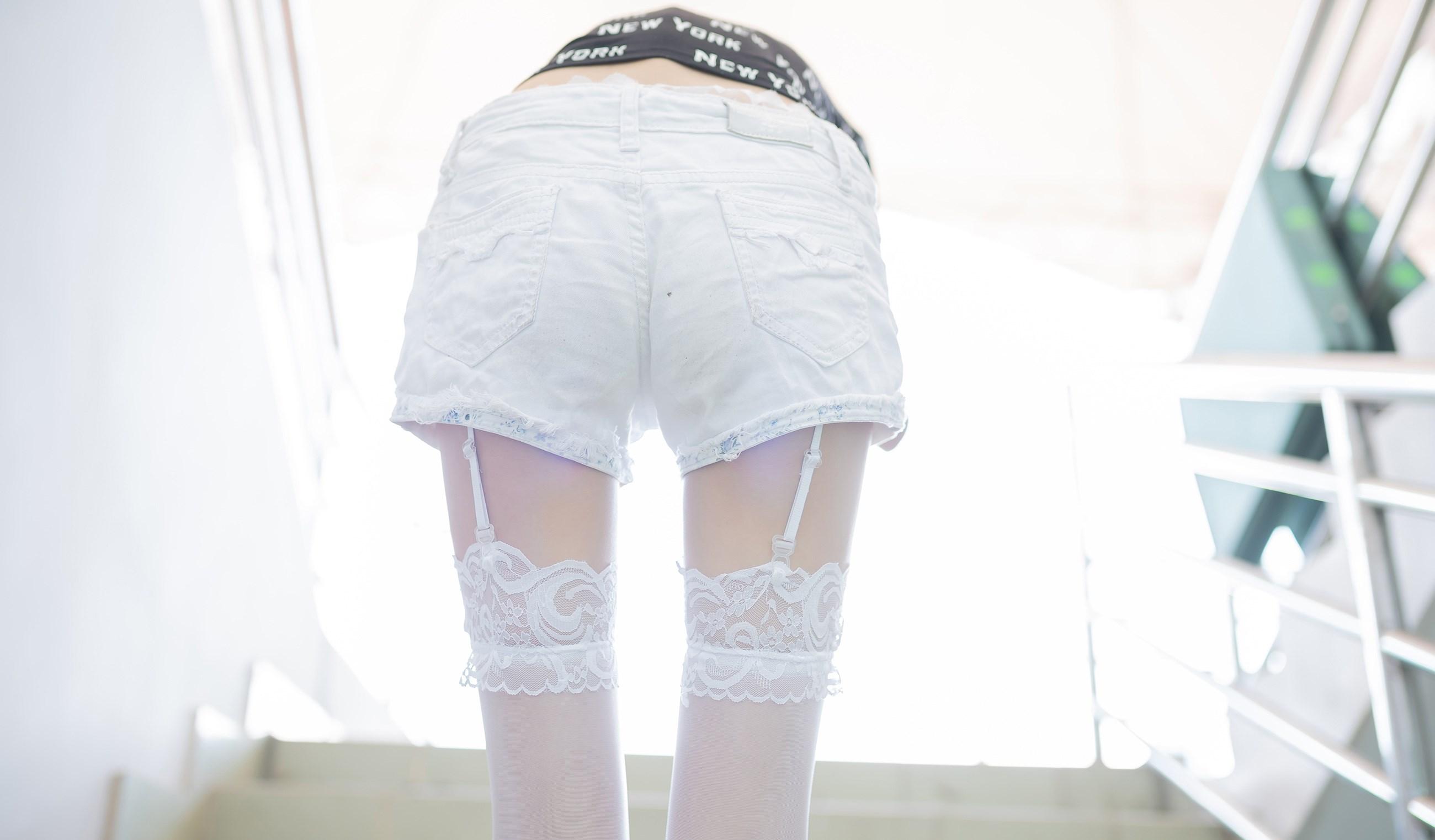 【兔玩映画】白丝吊带袜 兔玩映画 第27张