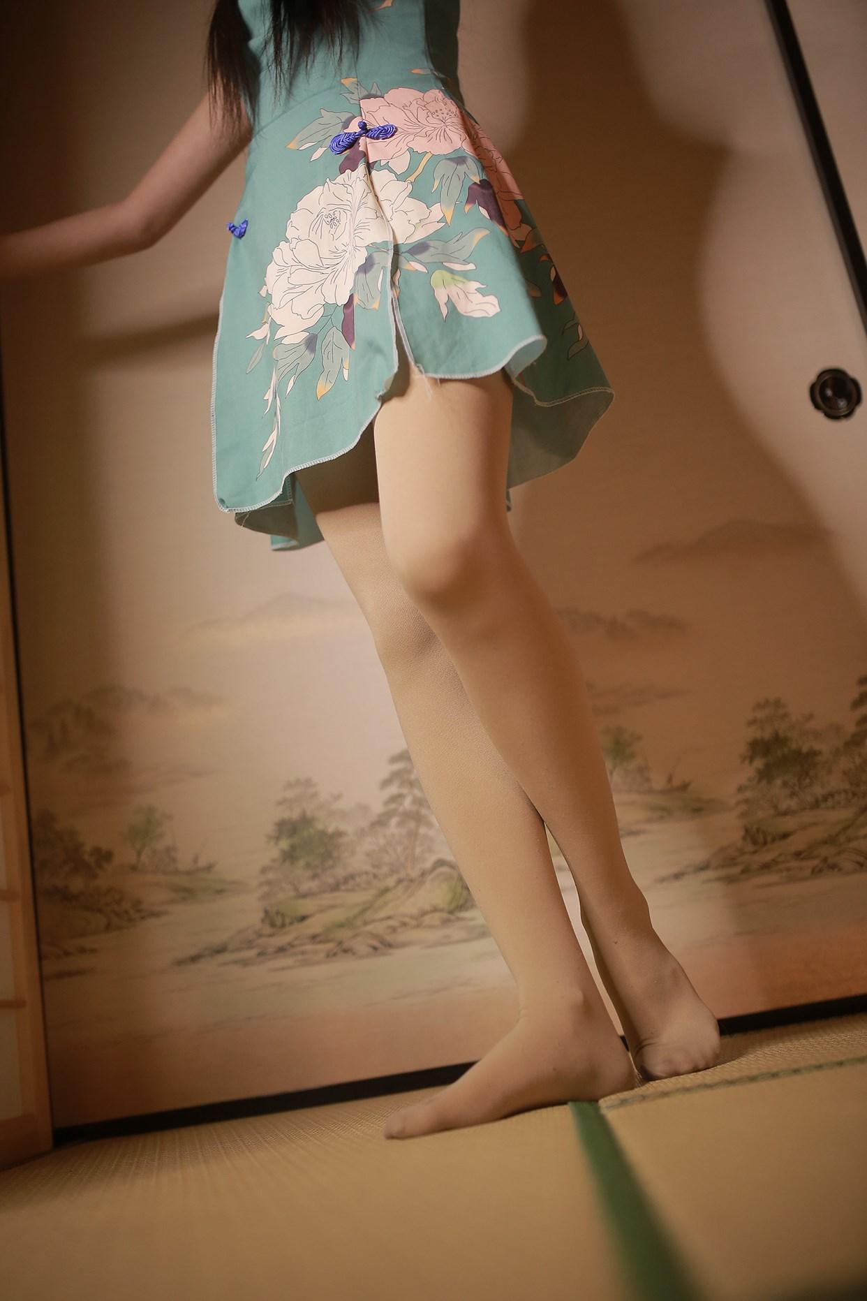 【兔玩映画】伞下的旗袍少女 兔玩映画 第30张