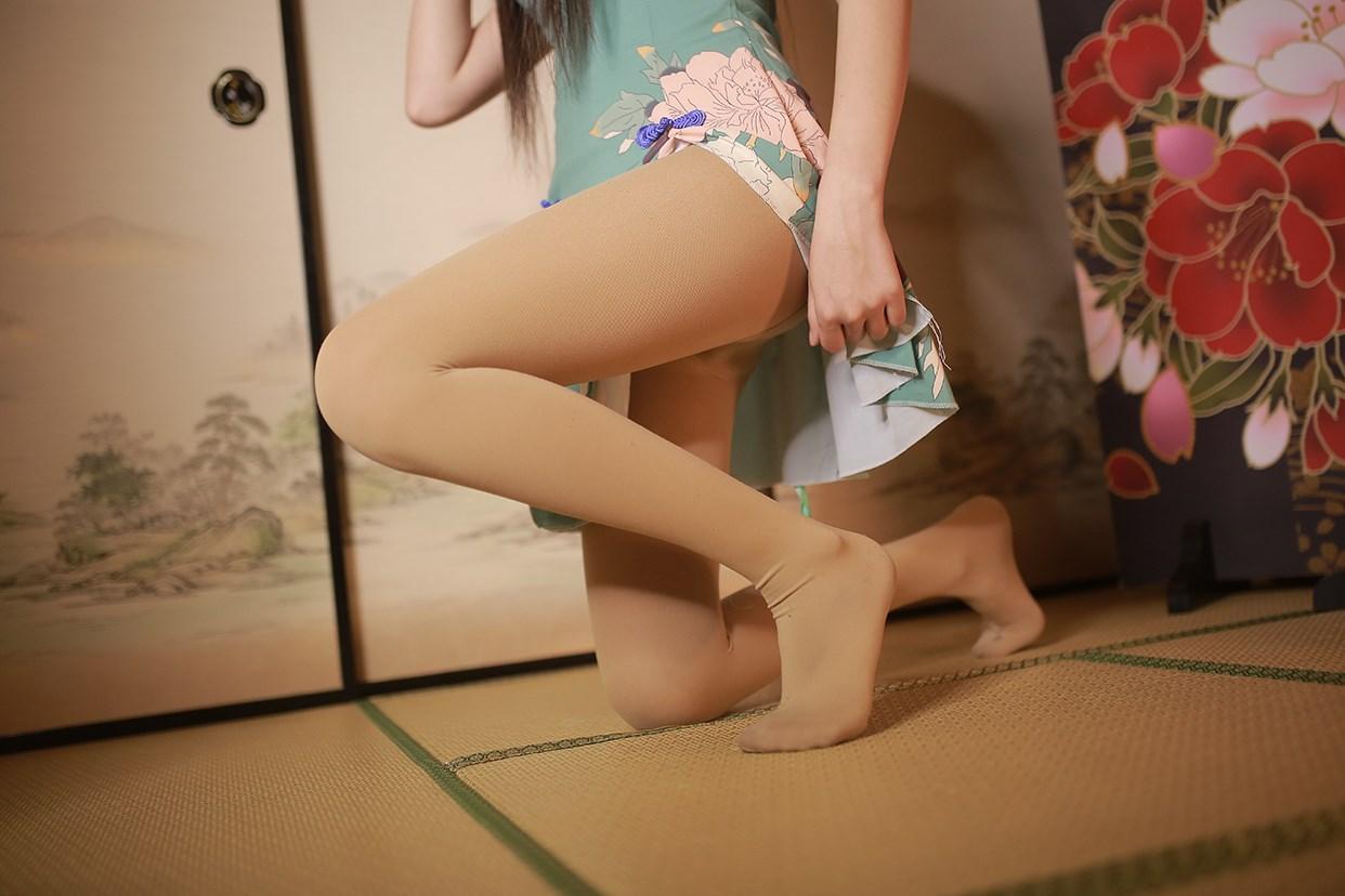 【兔玩映画】伞下的旗袍少女 兔玩映画 第26张