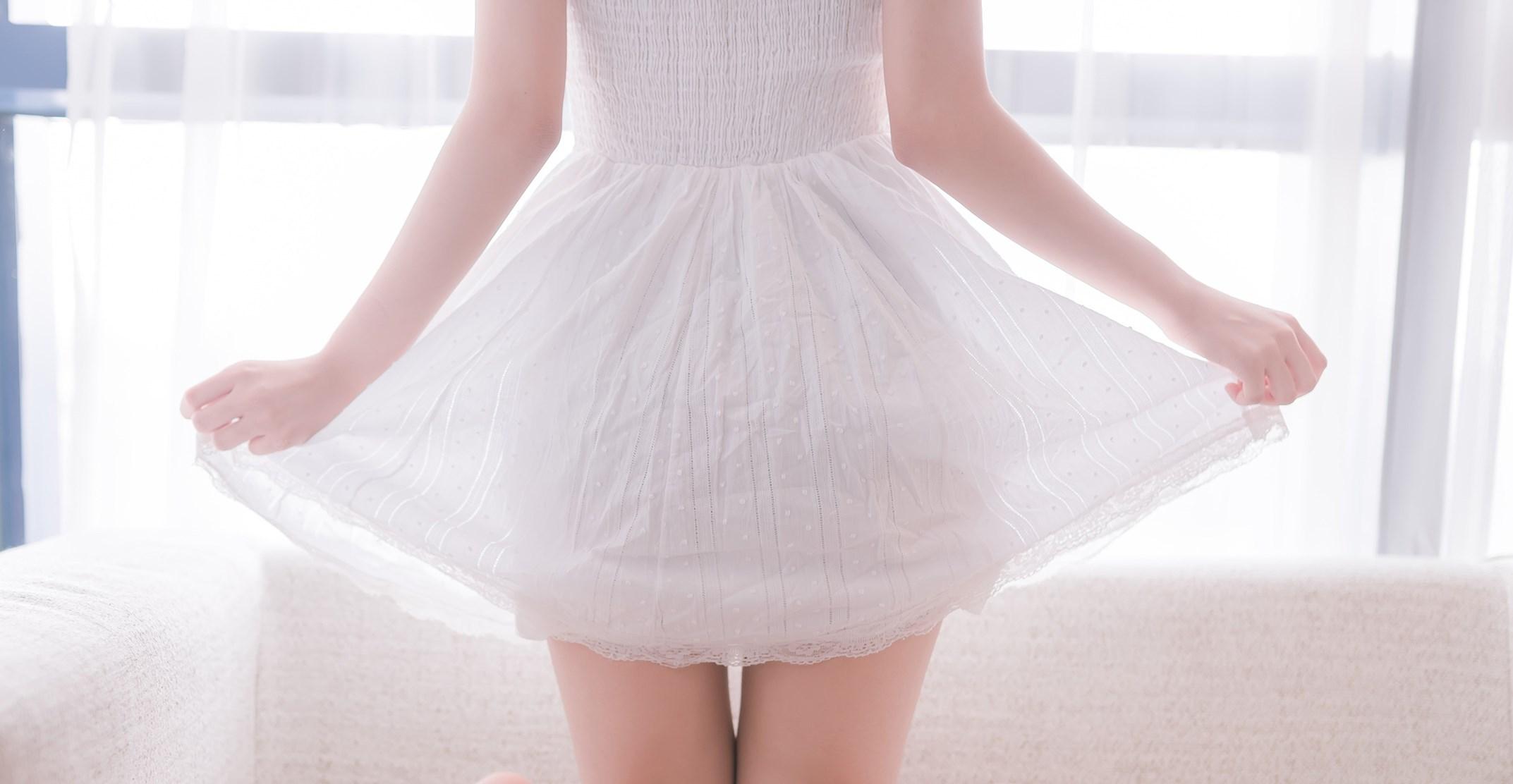 【兔玩映画】白裙双马尾 兔玩映画 第47张