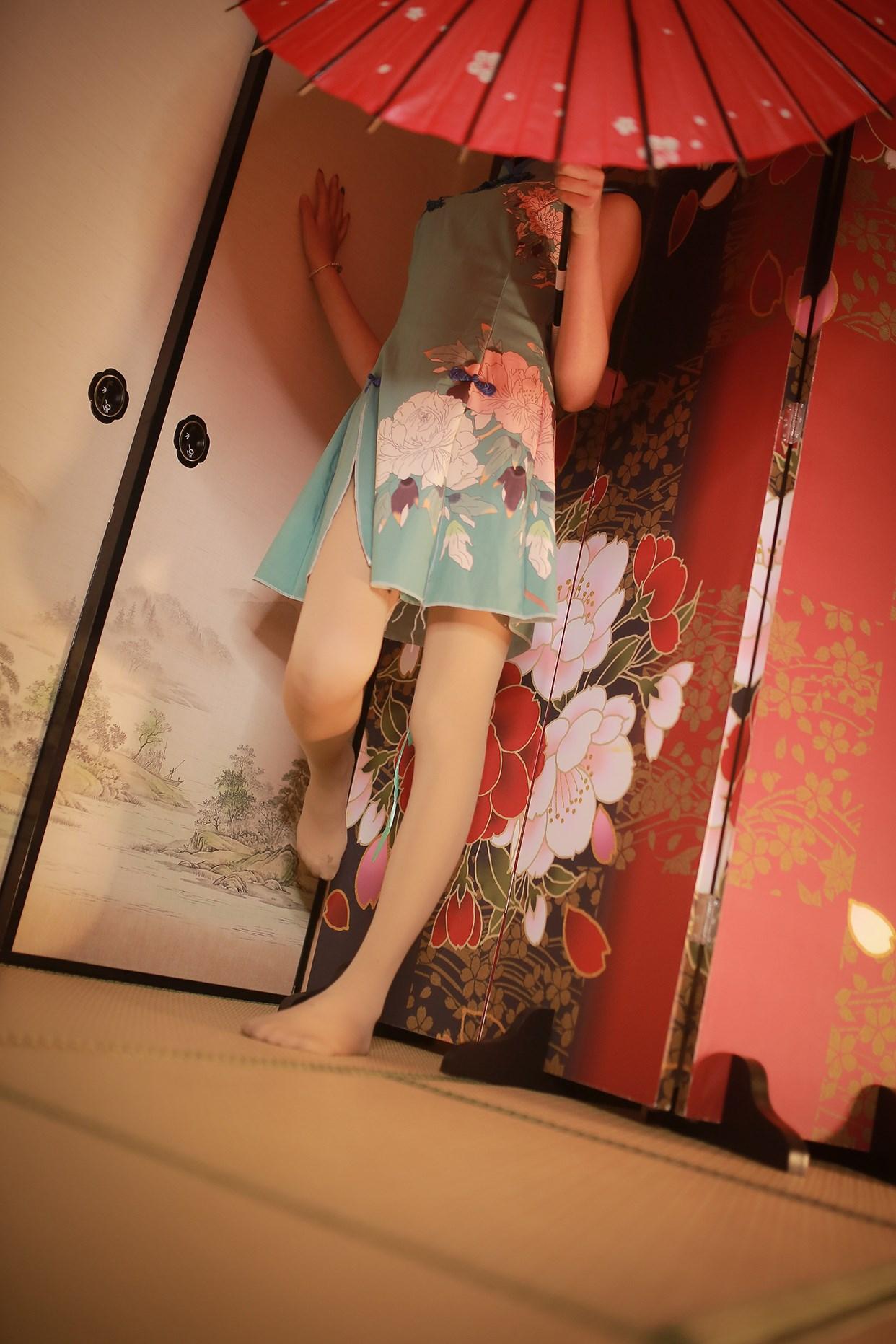 【兔玩映画】伞下的旗袍少女 兔玩映画 第15张
