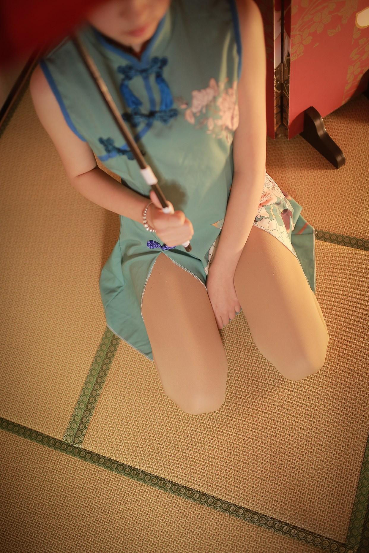【兔玩映画】伞下的旗袍少女 兔玩映画 第13张