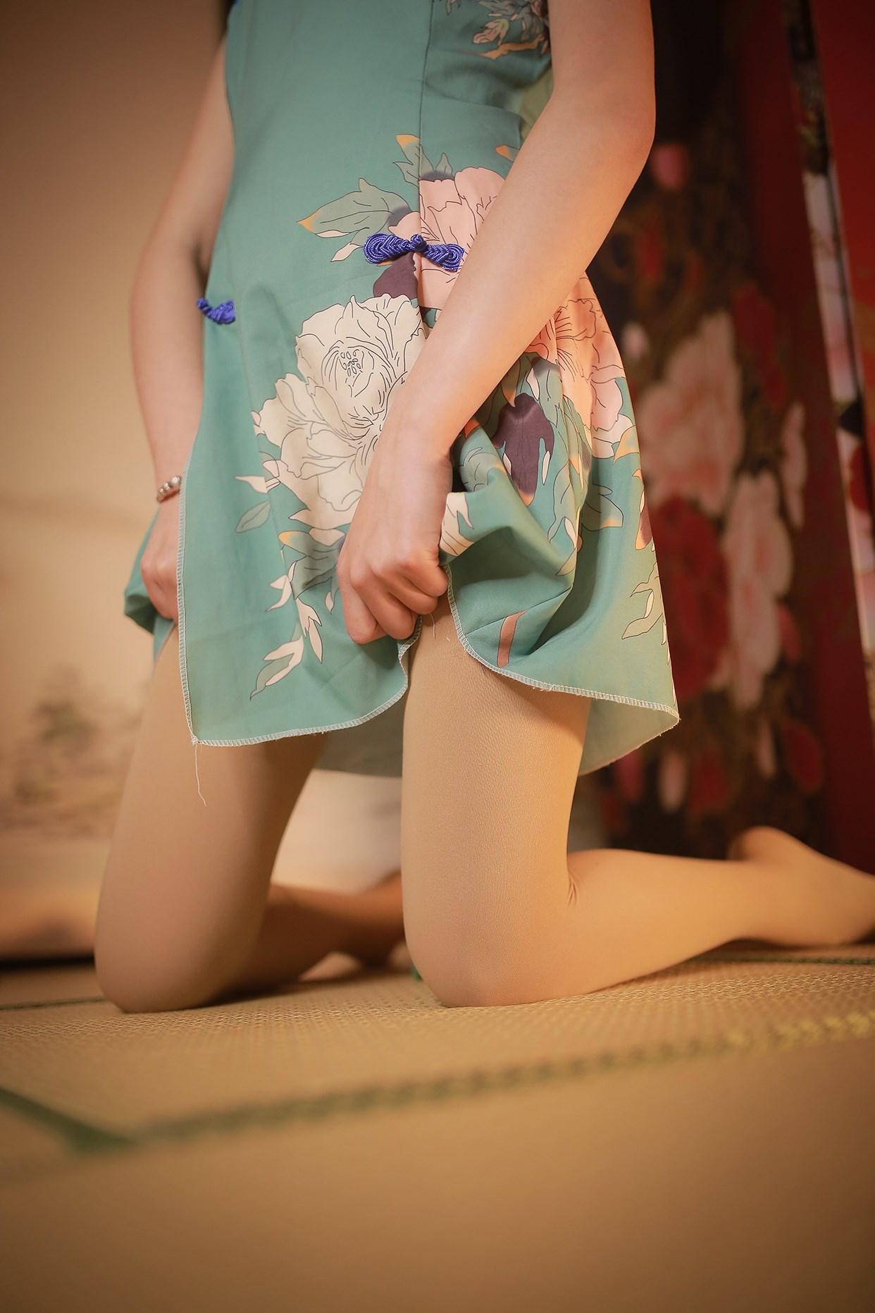 【兔玩映画】伞下的旗袍少女 兔玩映画 第11张