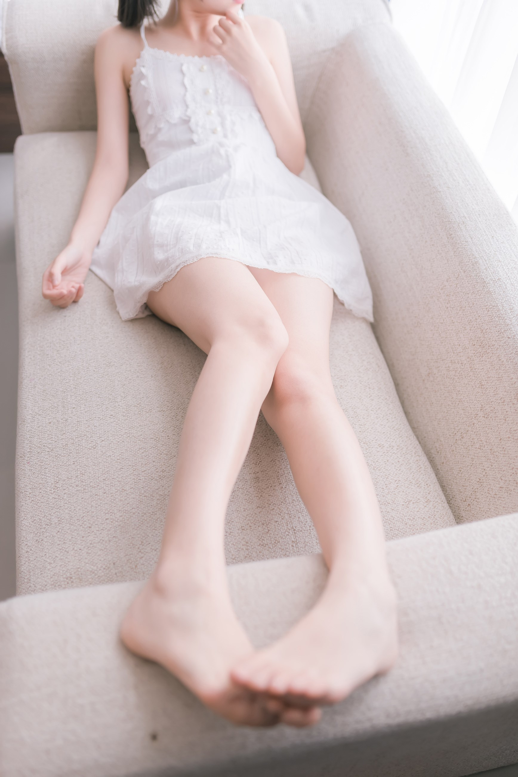 【兔玩映画】白裙双马尾 兔玩映画 第38张