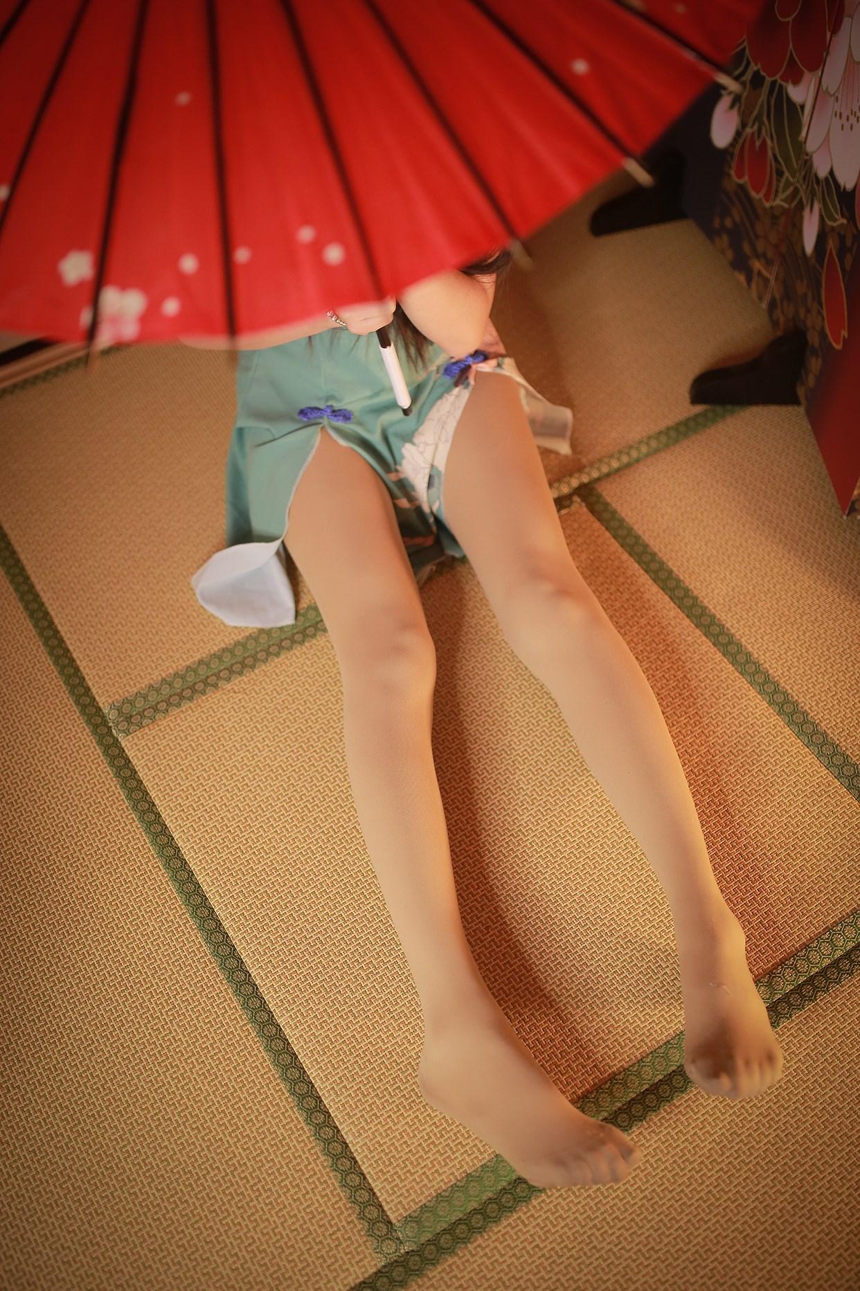 【兔玩映画】伞下的旗袍少女 兔玩映画 第7张