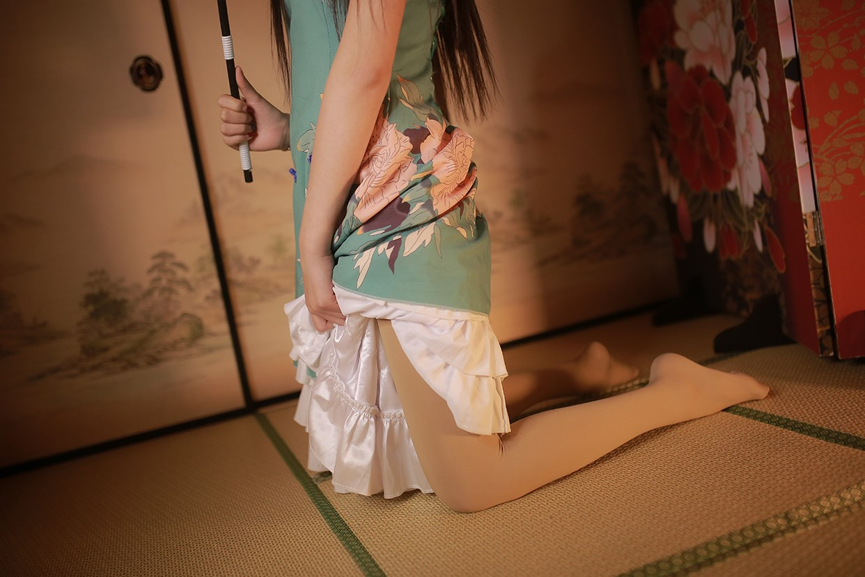 【兔玩映画】伞下的旗袍少女 兔玩映画 第6张