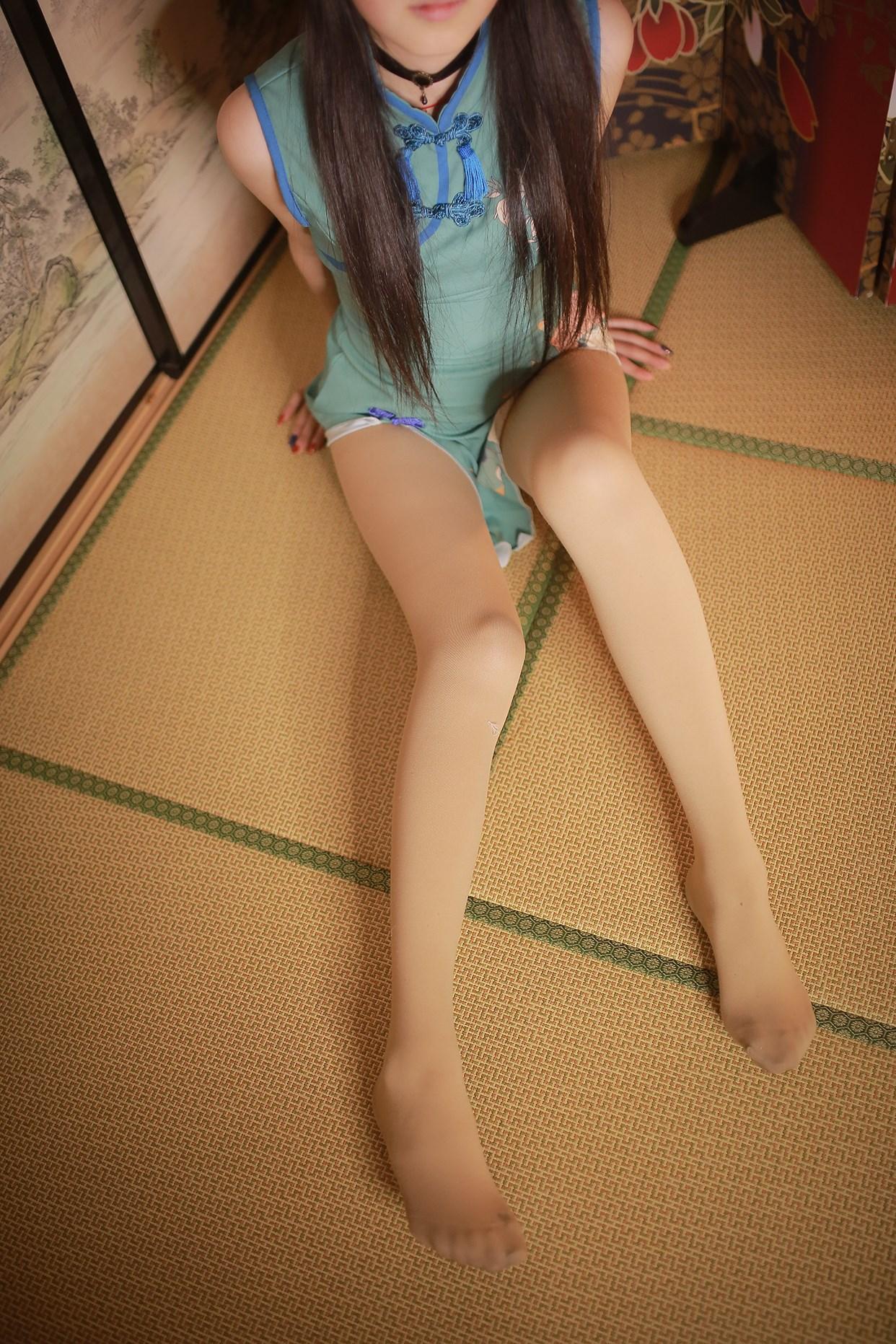 【兔玩映画】伞下的旗袍少女 兔玩映画 第4张