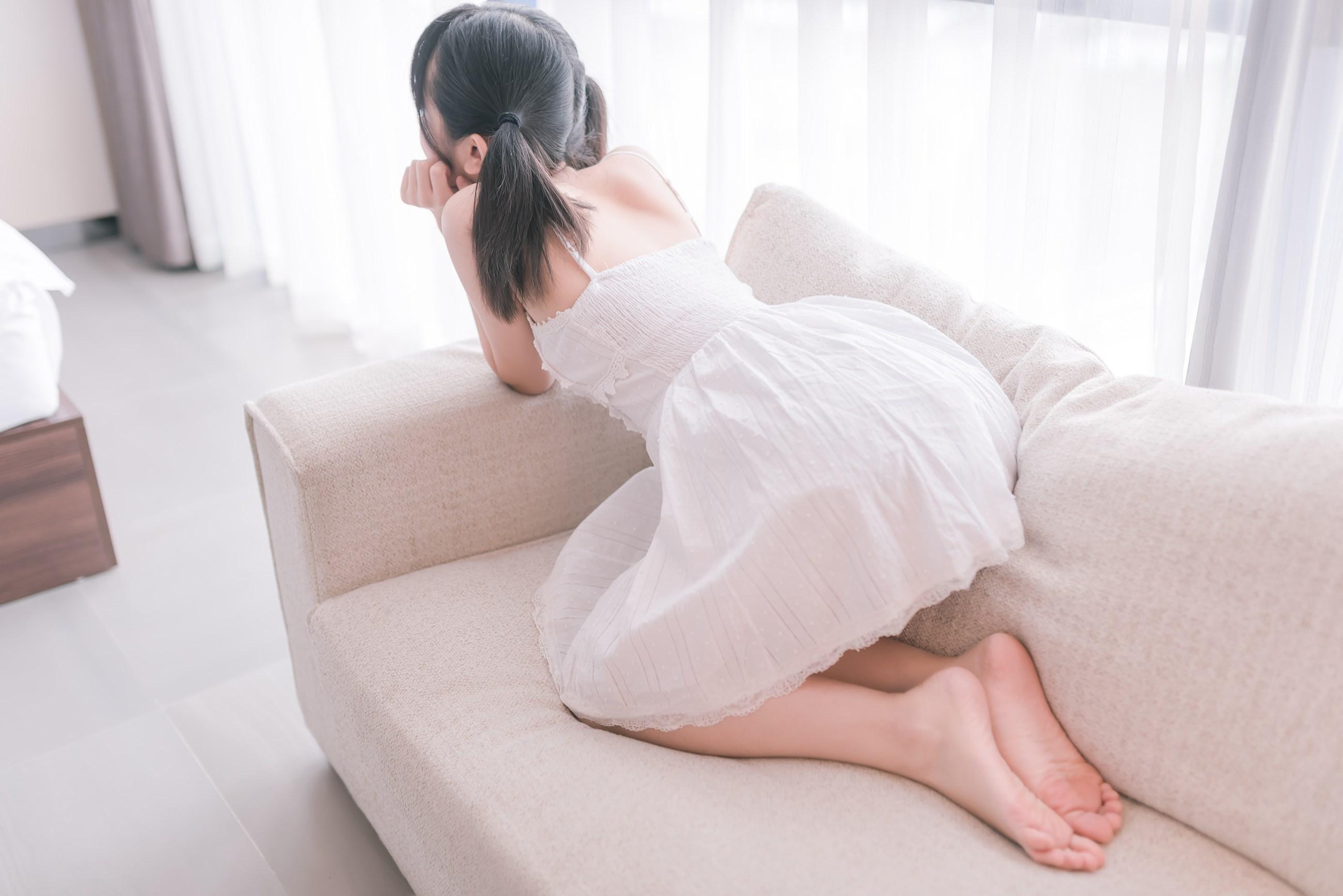 【兔玩映画】白裙双马尾 兔玩映画 第27张