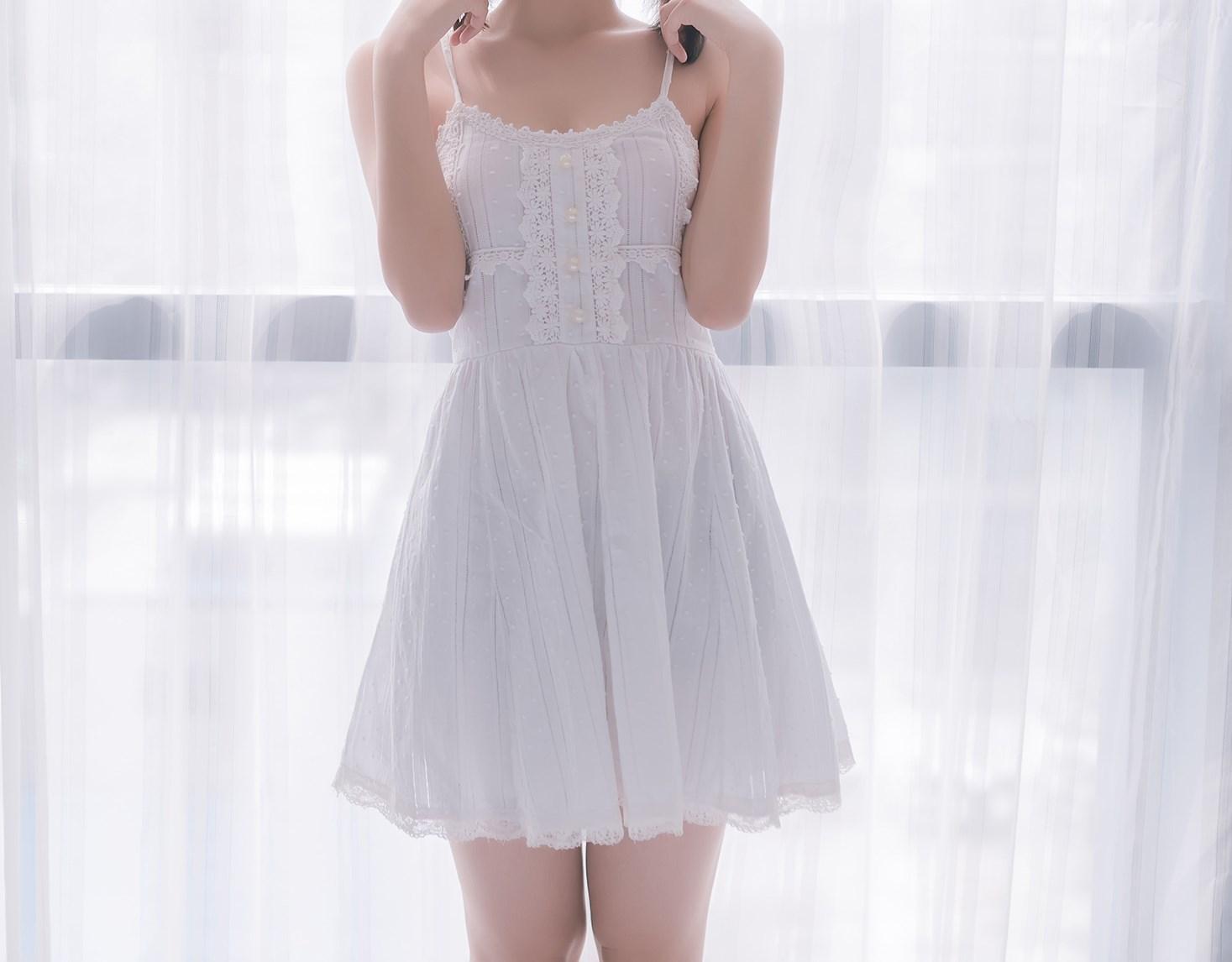 【兔玩映画】白裙双马尾 兔玩映画 第6张