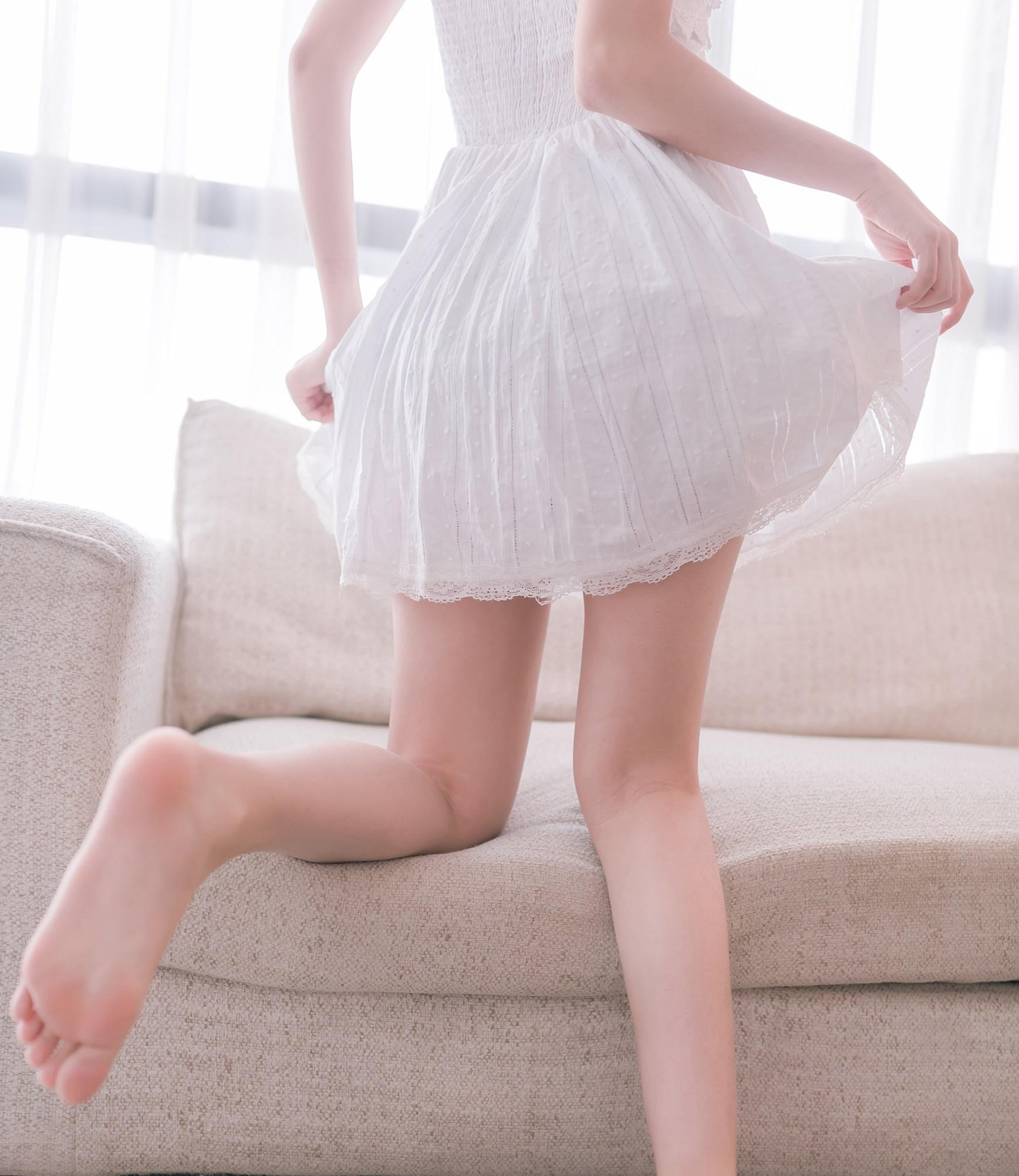 【兔玩映画】白裙双马尾 兔玩映画 第2张