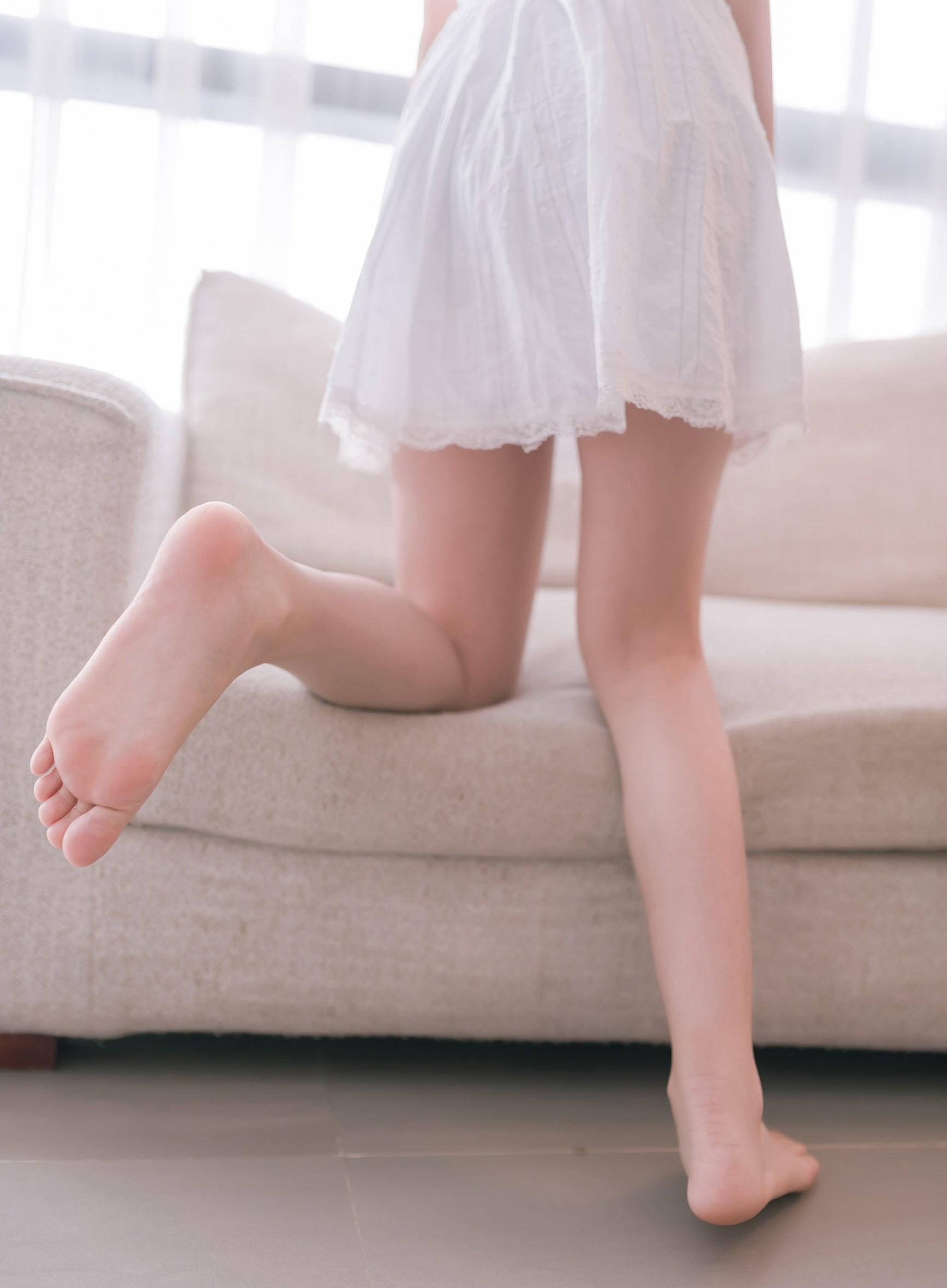 【兔玩映画】白裙双马尾 兔玩映画 第1张