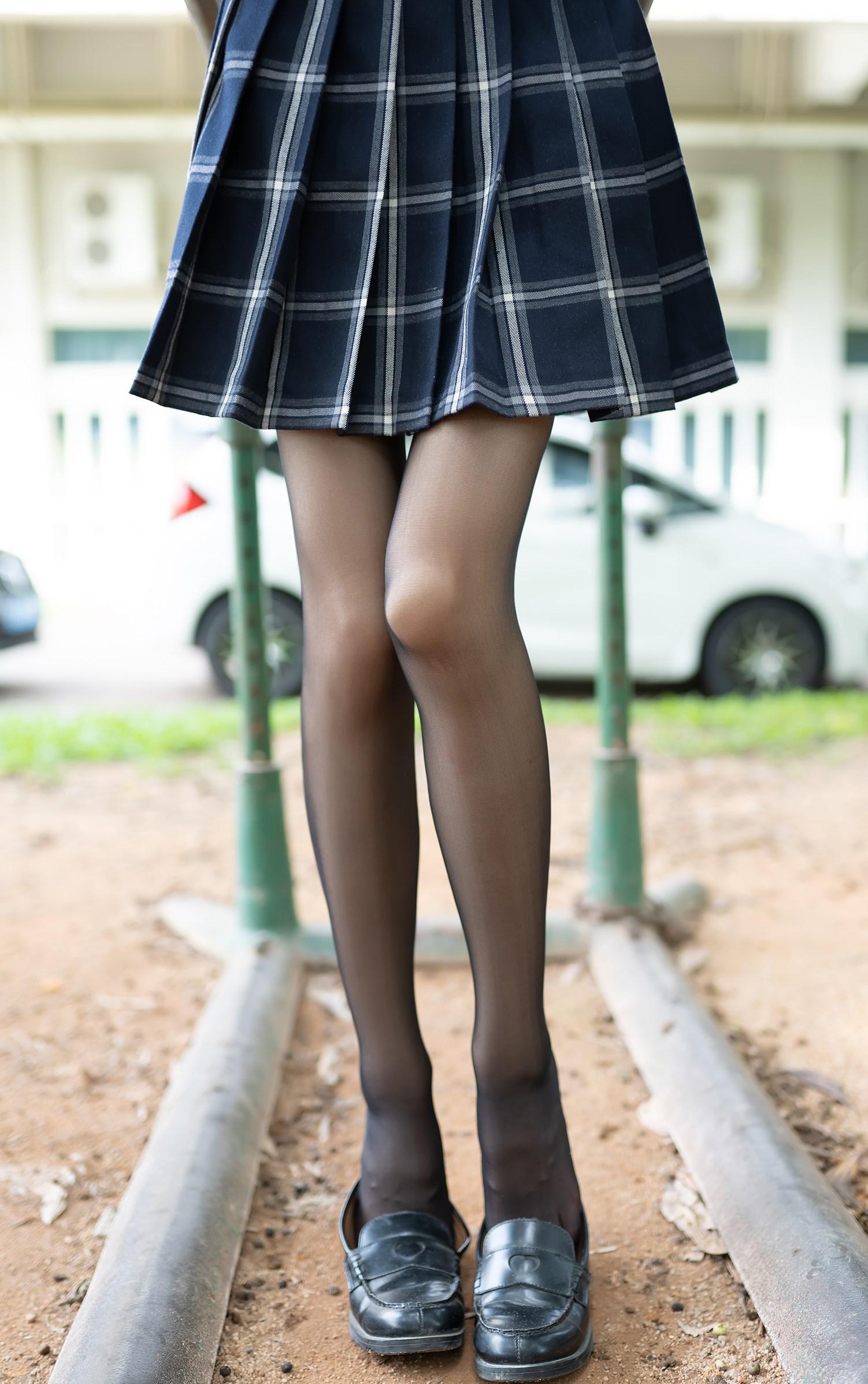 【兔玩映画】格裙黑丝 兔玩映画 第14张