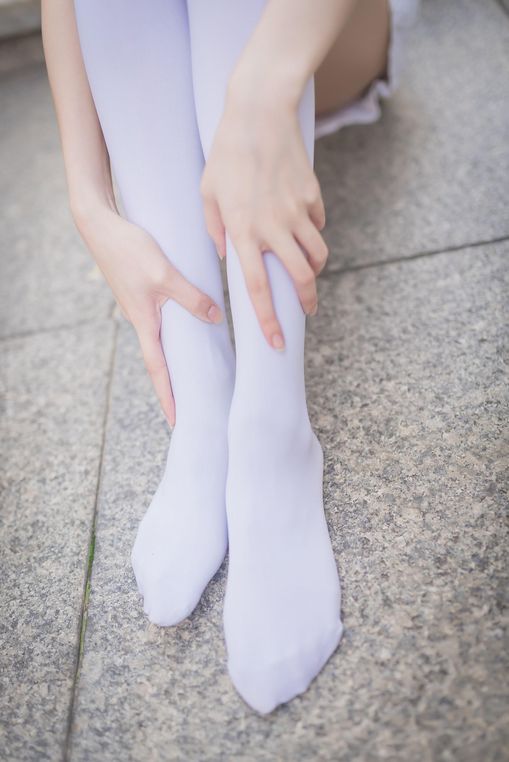【兔玩映画】白丝过膝袜 兔玩映画 第41张