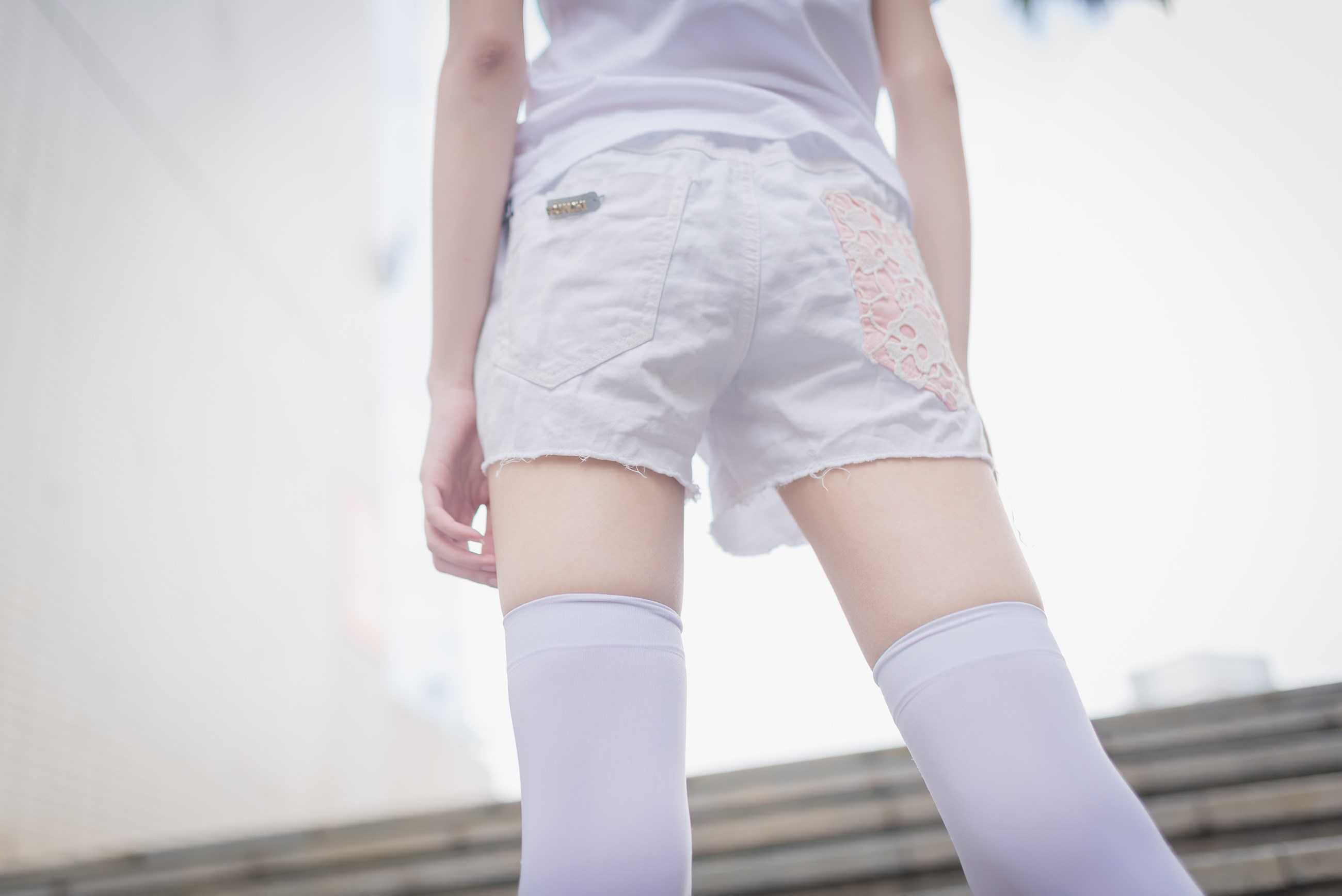 【兔玩映画】白丝过膝袜 兔玩映画 第27张