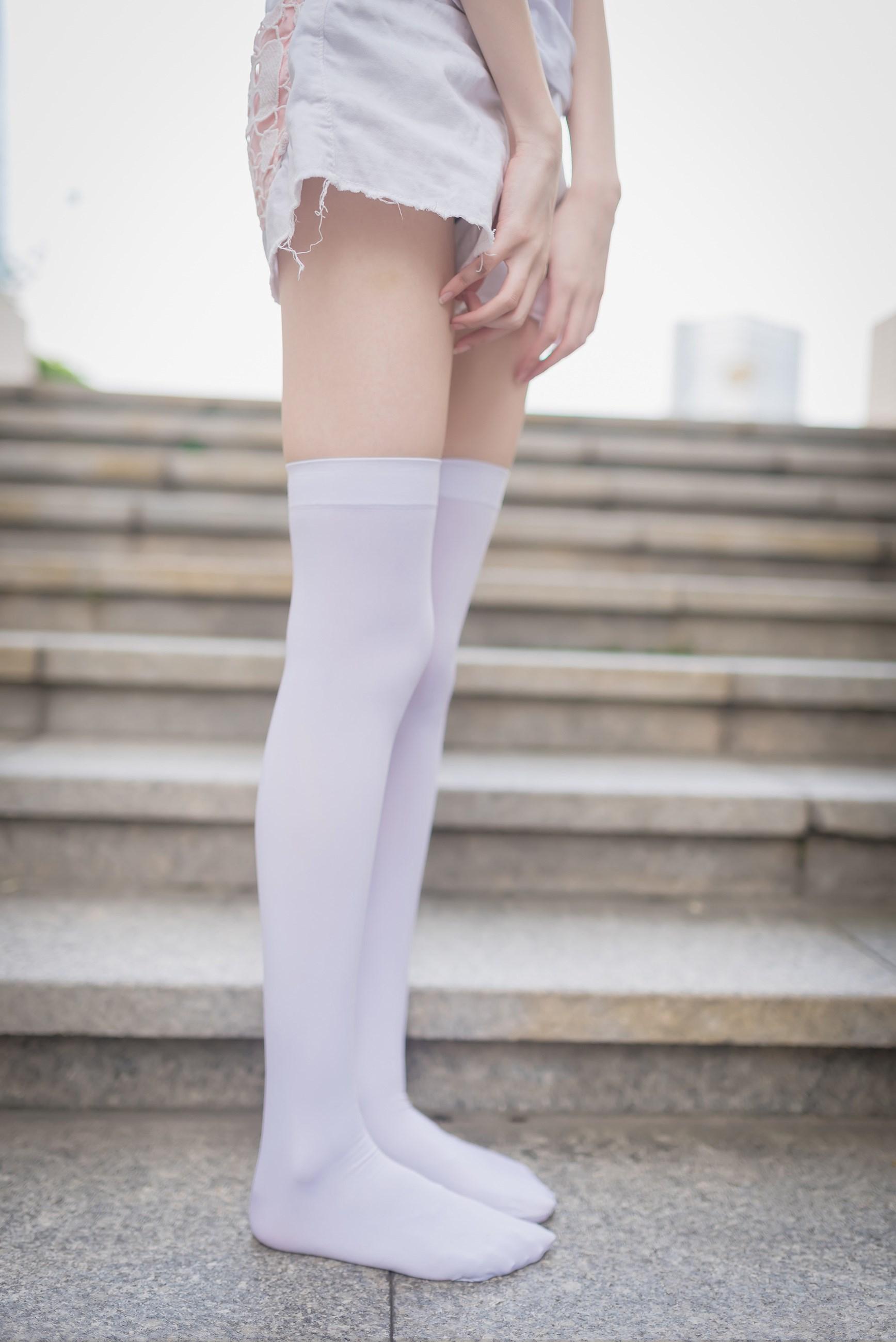 【兔玩映画】白丝过膝袜 兔玩映画 第24张