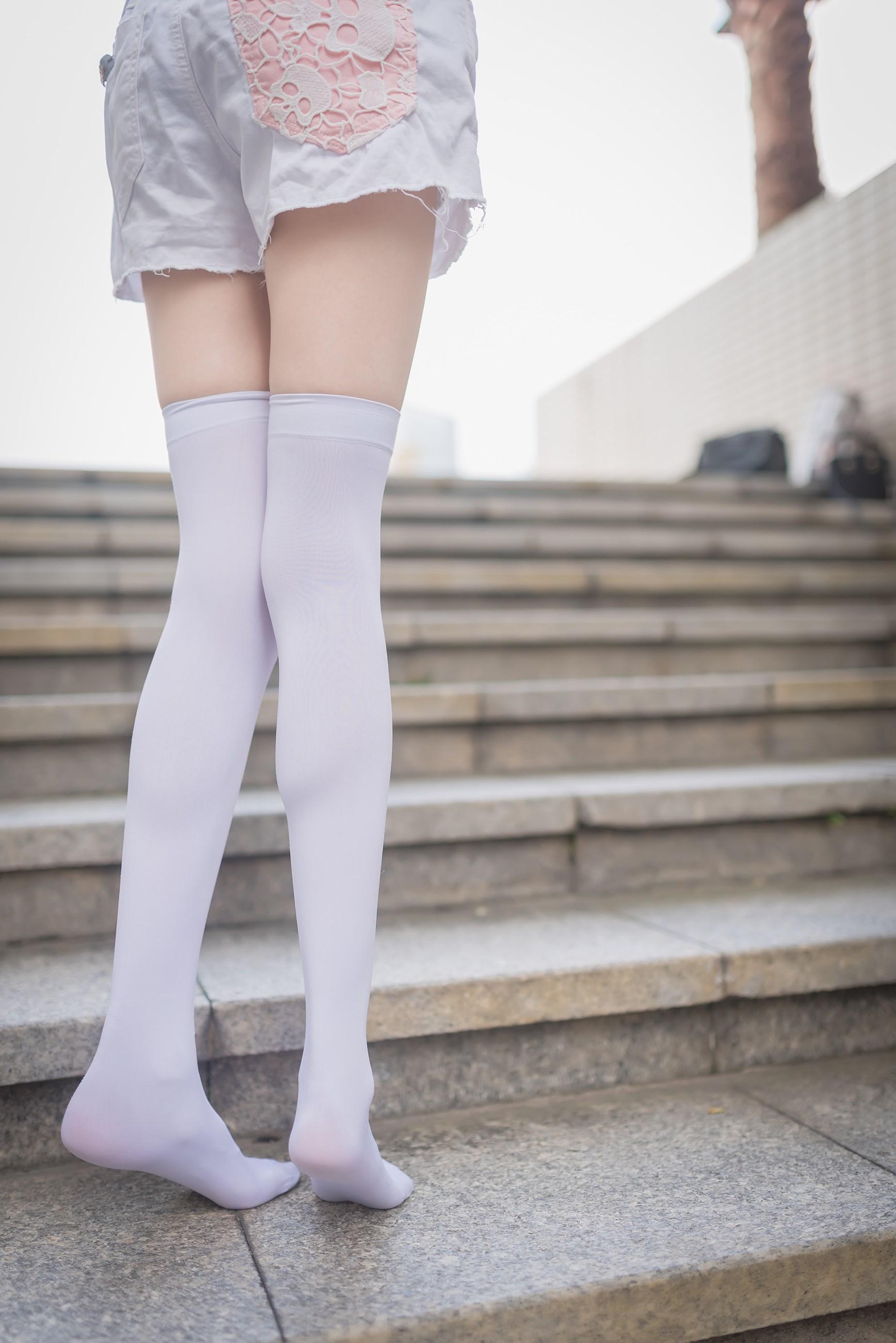 【兔玩映画】白丝过膝袜 兔玩映画 第21张