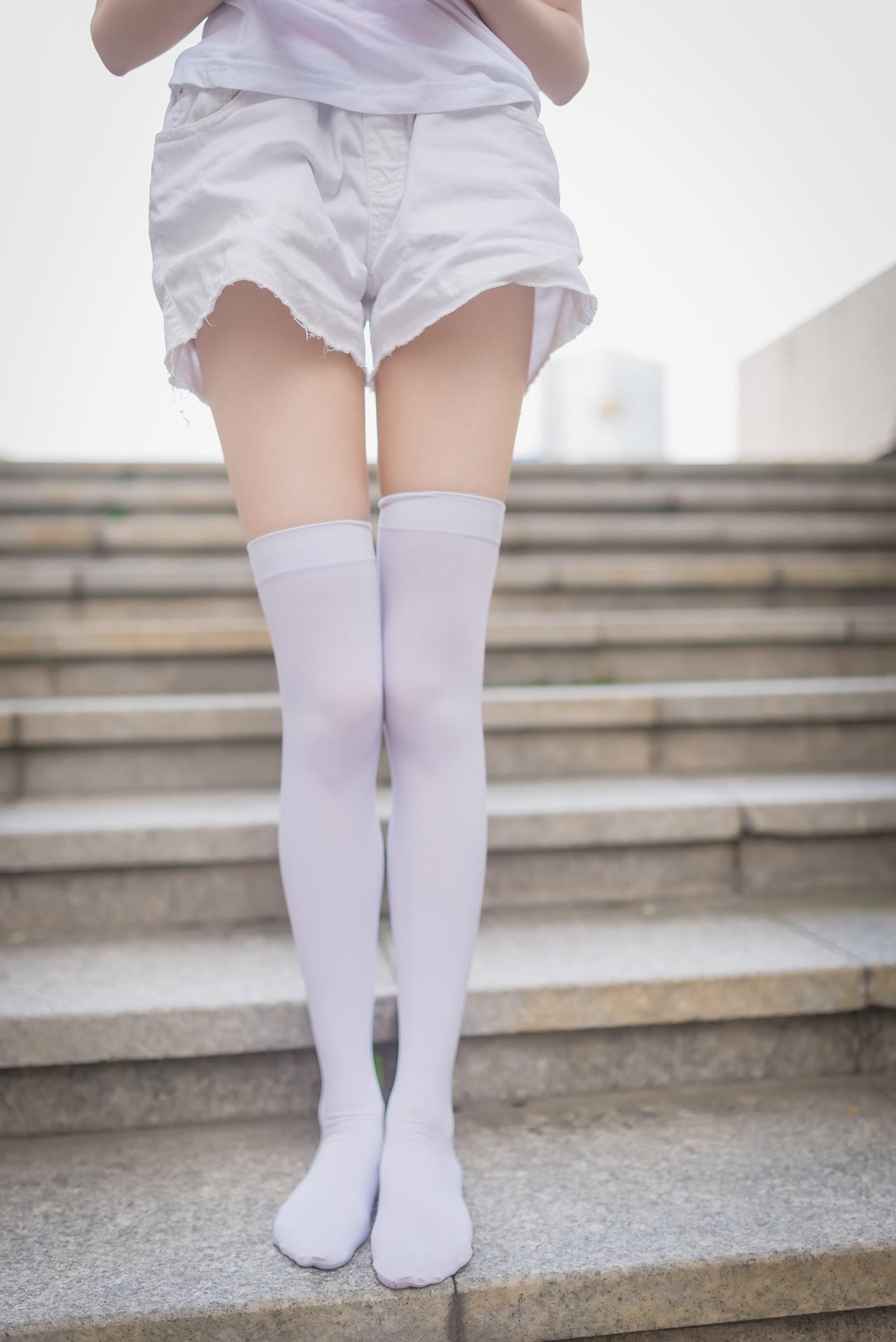 【兔玩映画】白丝过膝袜 兔玩映画 第16张