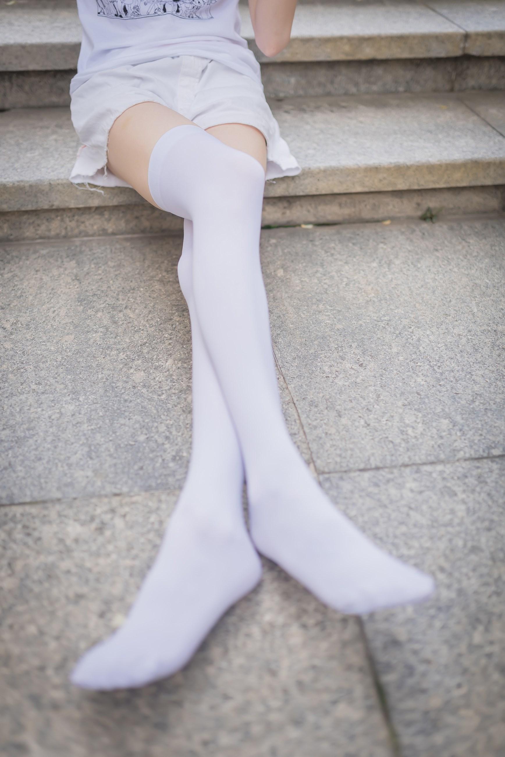 【兔玩映画】白丝过膝袜 兔玩映画 第11张