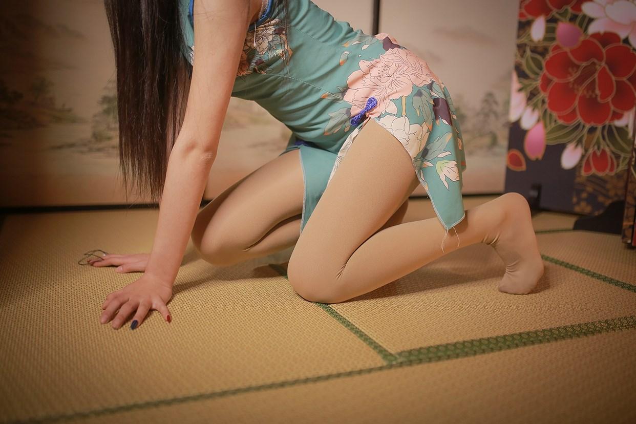 【兔玩映画】伞下的旗袍少女 兔玩映画 第31张