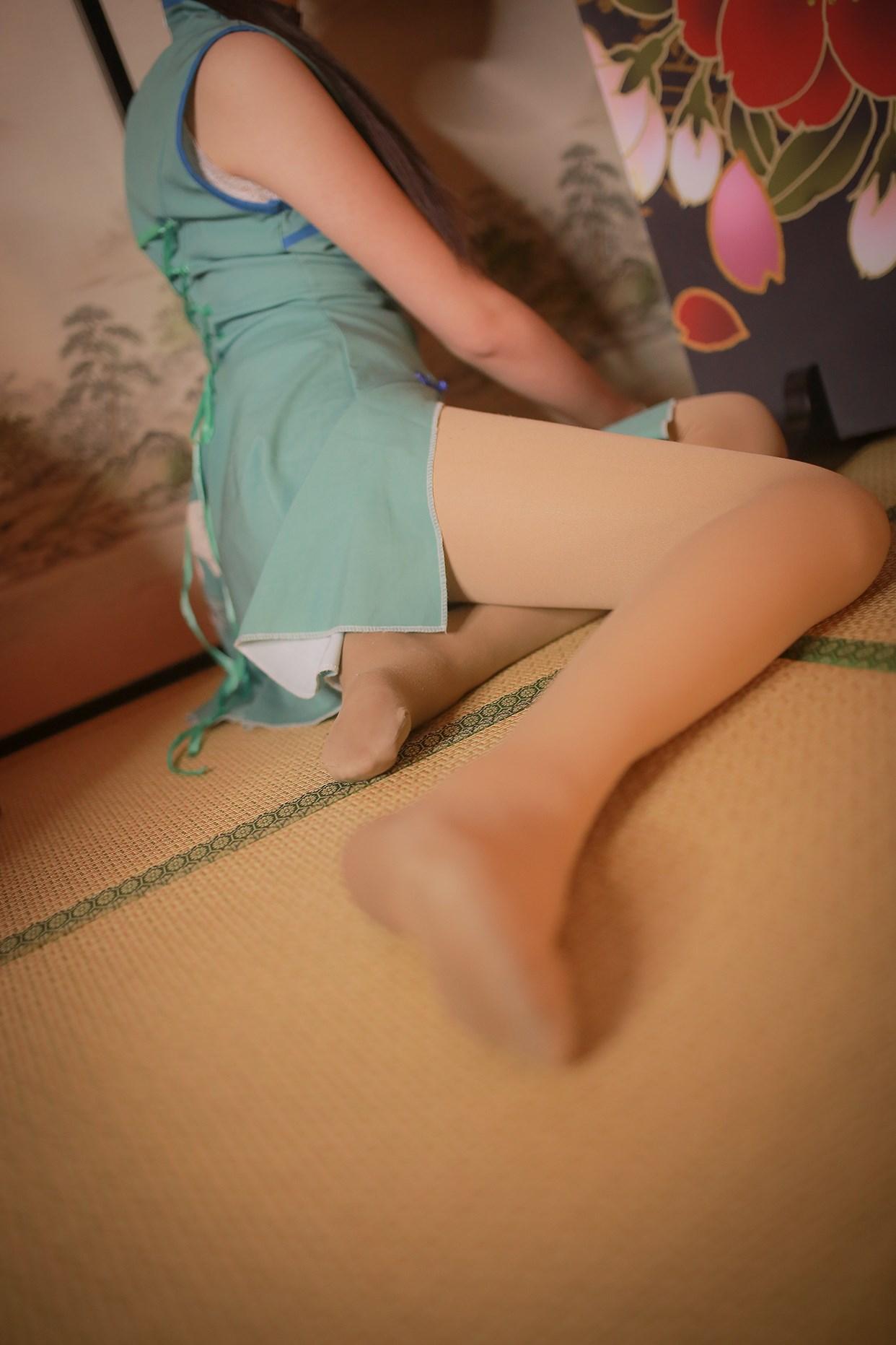 【兔玩映画】伞下的旗袍少女 兔玩映画 第10张
