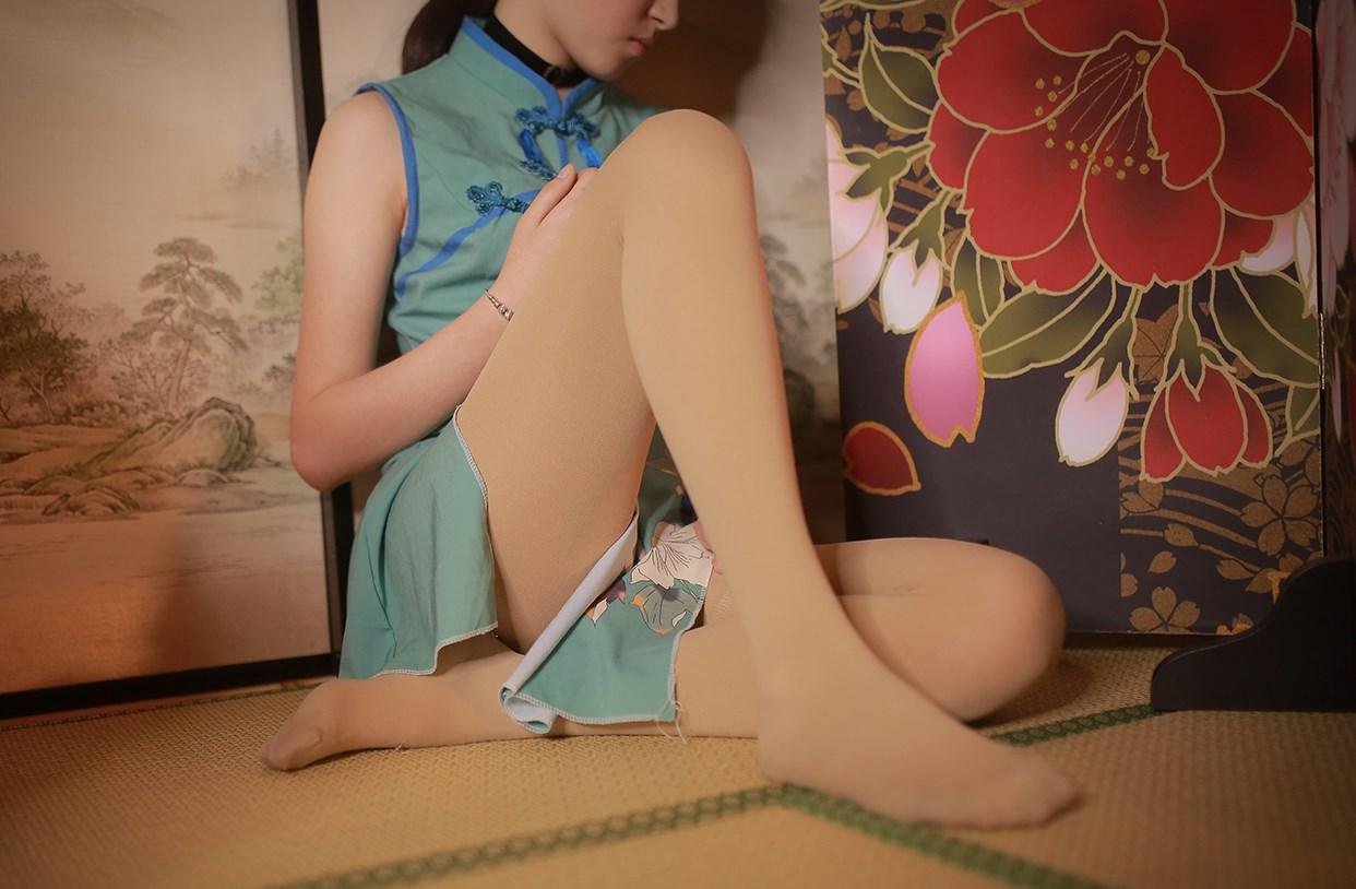 【兔玩映画】伞下的旗袍少女 兔玩映画 第9张