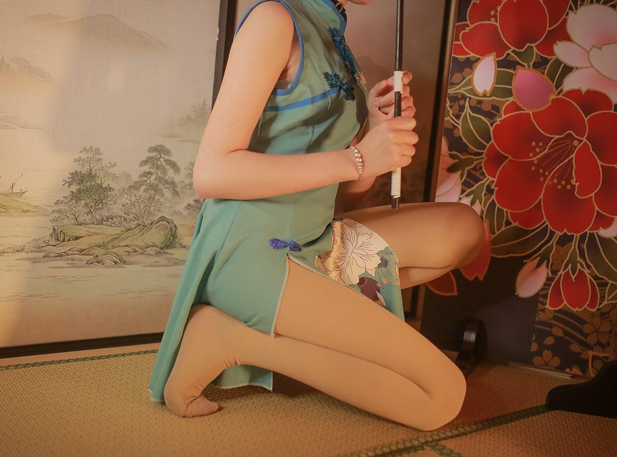 【兔玩映画】伞下的旗袍少女 兔玩映画 第8张