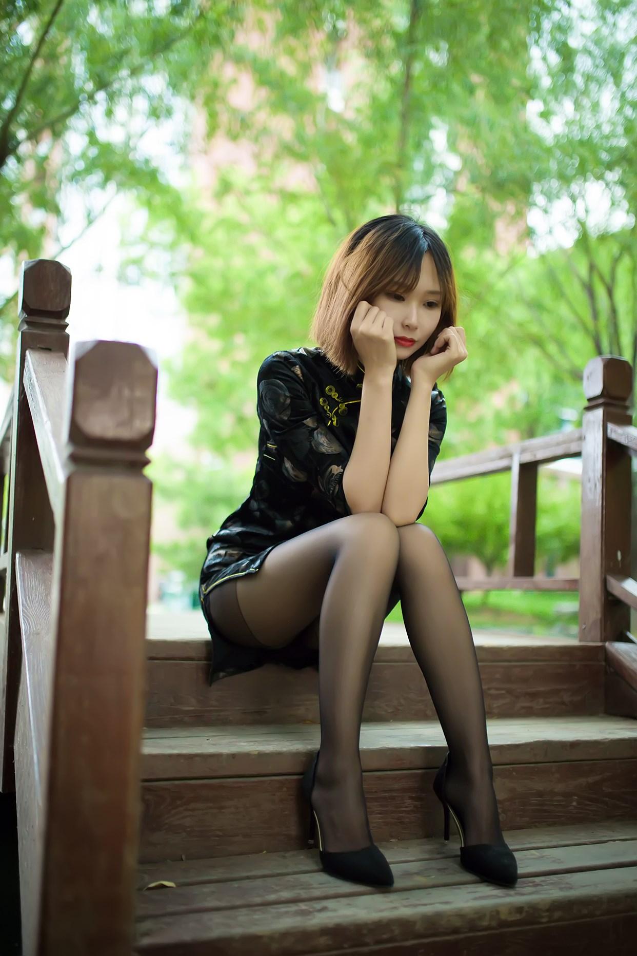 【兔玩映画】短发旗袍小姐姐 兔玩映画 第56张