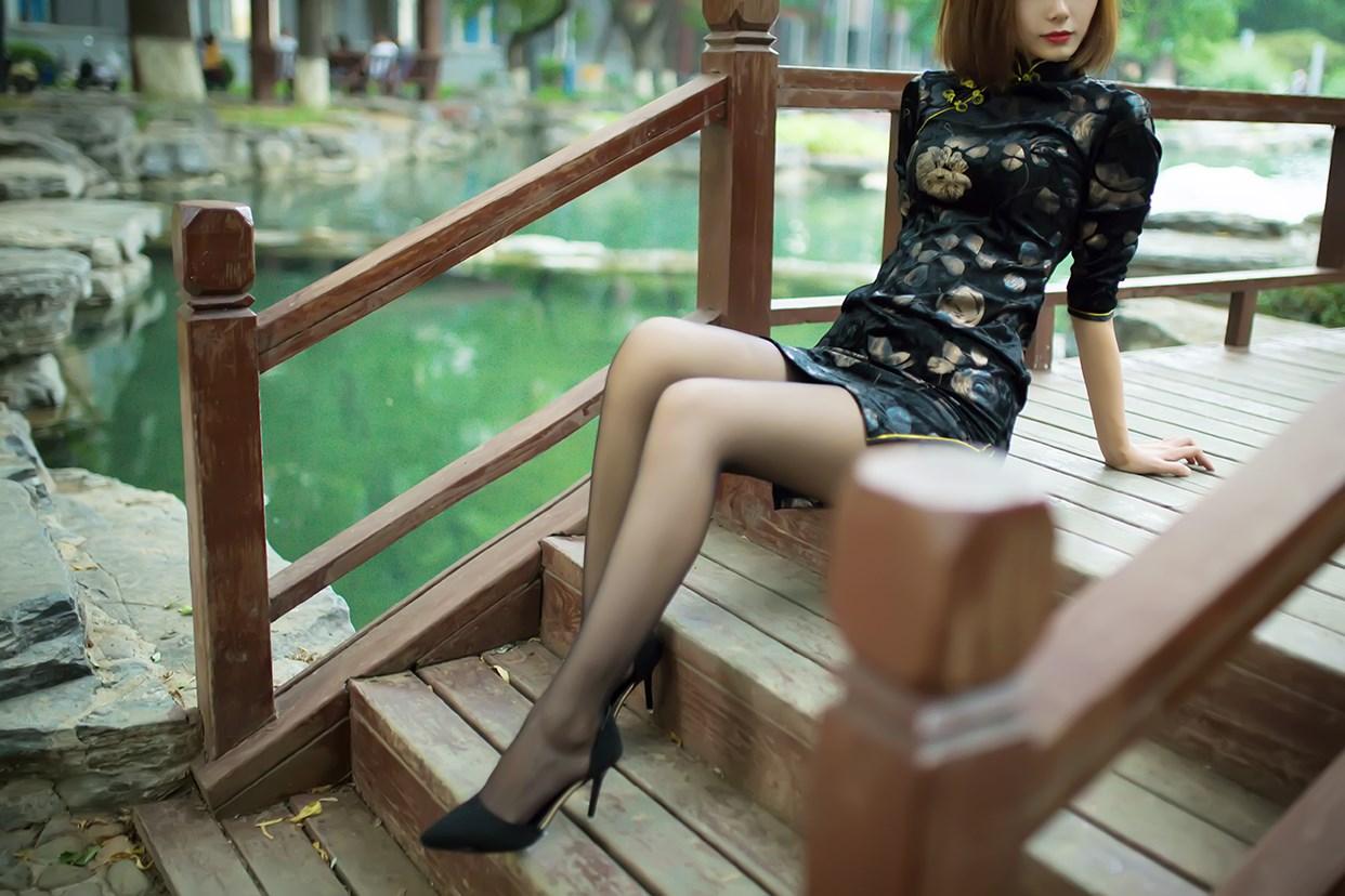 【兔玩映画】短发旗袍小姐姐 兔玩映画 第54张