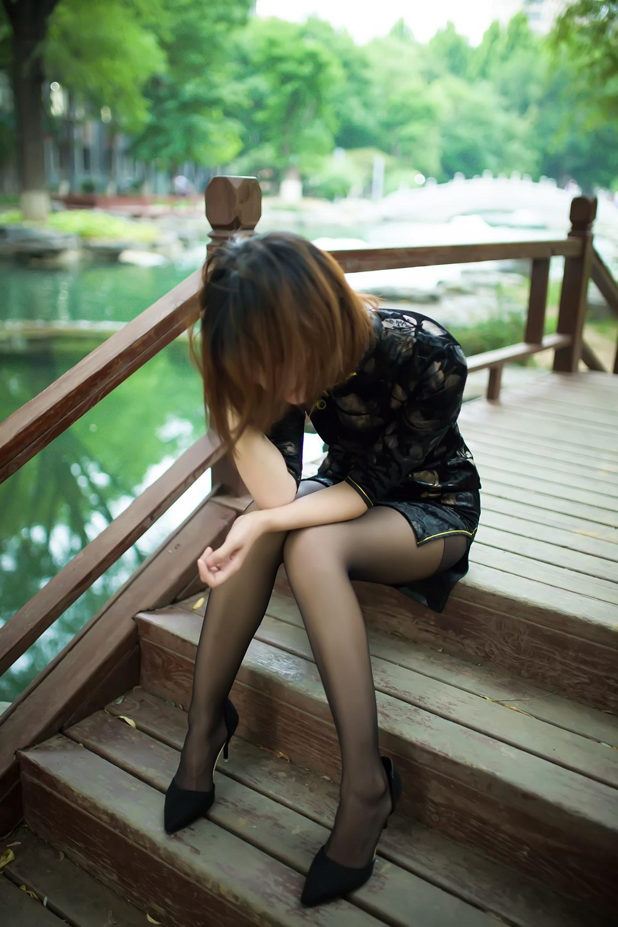 【兔玩映画】短发旗袍小姐姐 兔玩映画 第51张