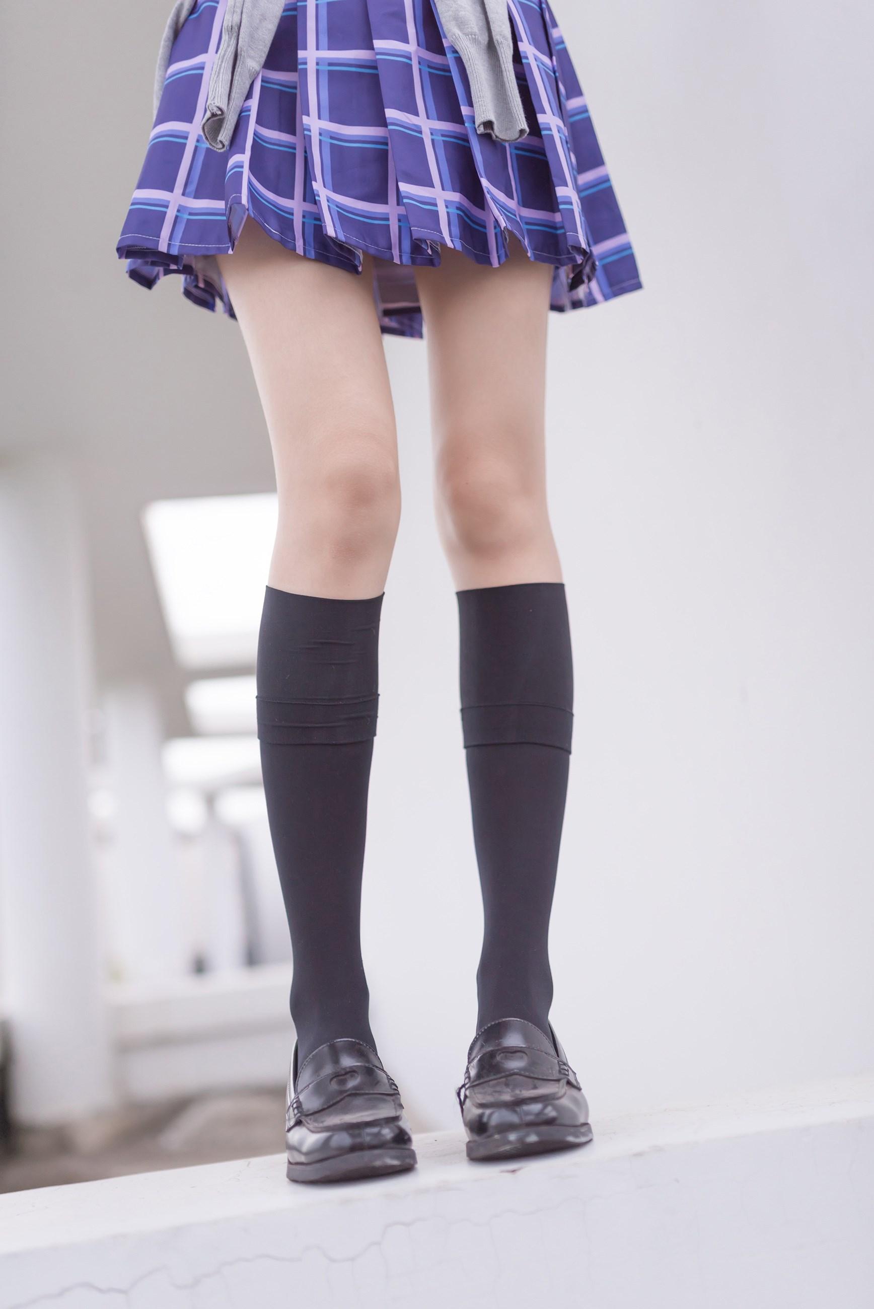 【兔玩映画】天台的蓝裙少女 兔玩映画 第39张