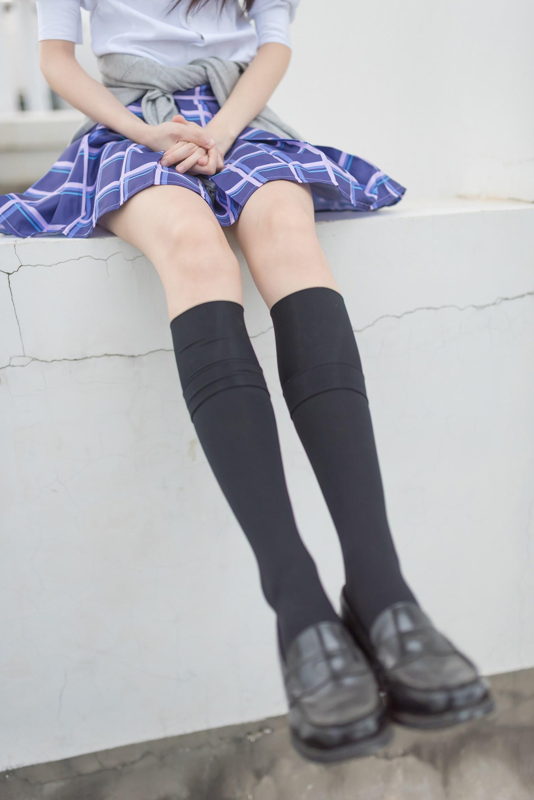 【兔玩映画】天台的蓝裙少女 兔玩映画 第34张