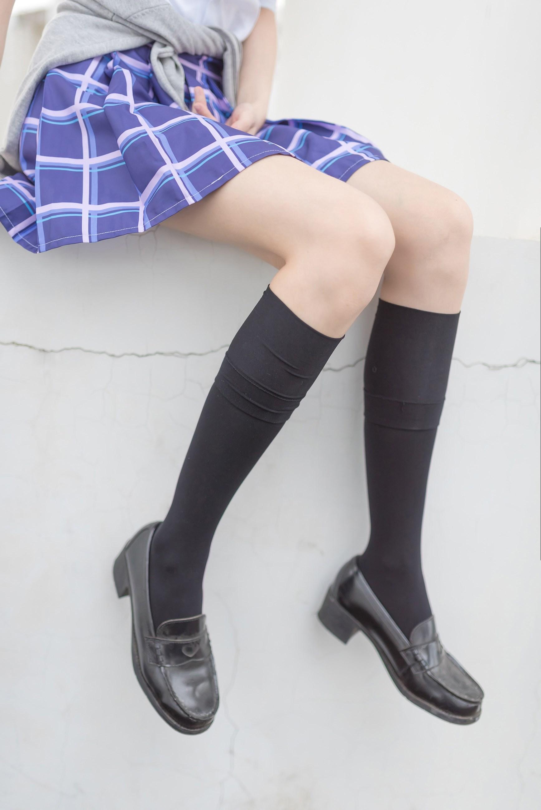 【兔玩映画】天台的蓝裙少女 兔玩映画 第32张