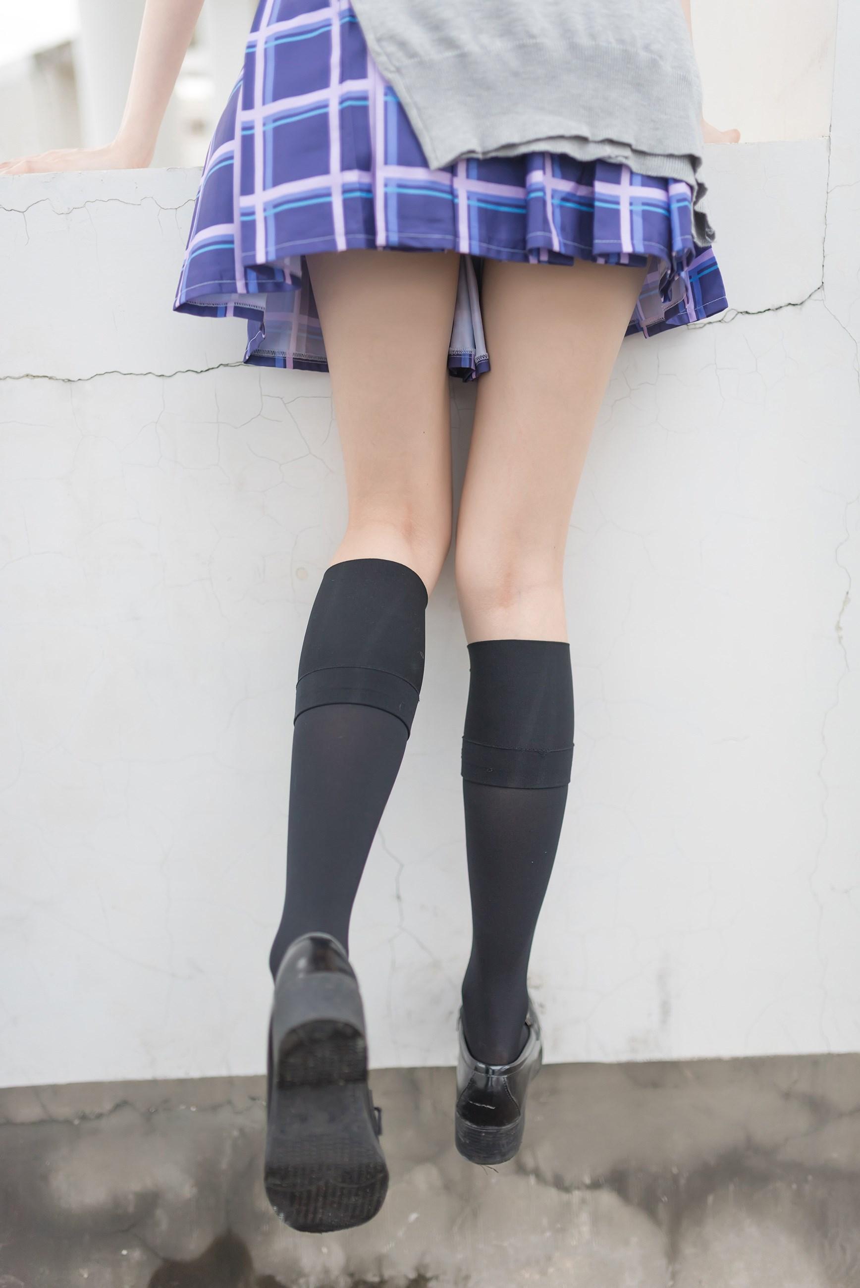 【兔玩映画】天台的蓝裙少女 兔玩映画 第31张
