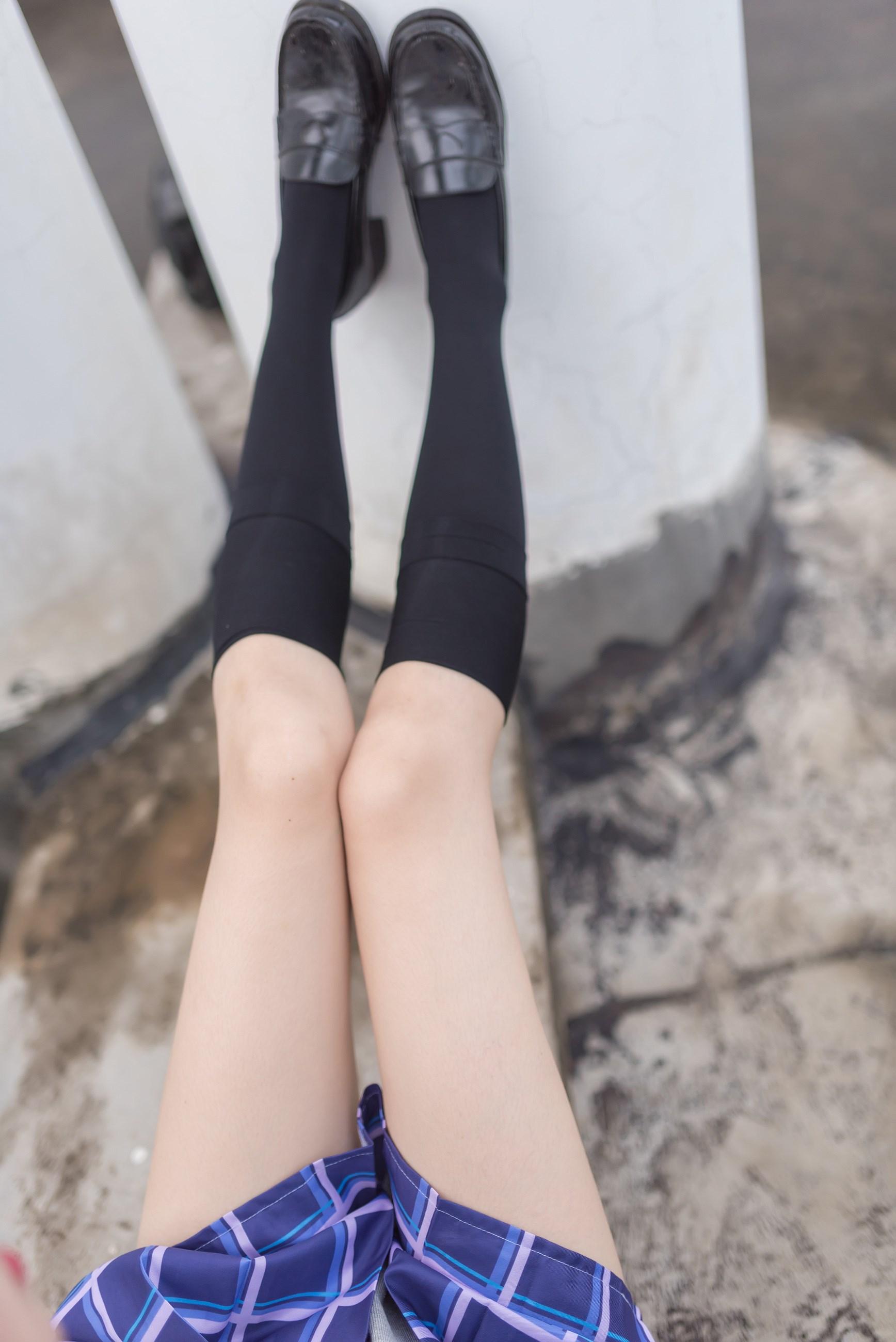 【兔玩映画】天台的蓝裙少女 兔玩映画 第27张
