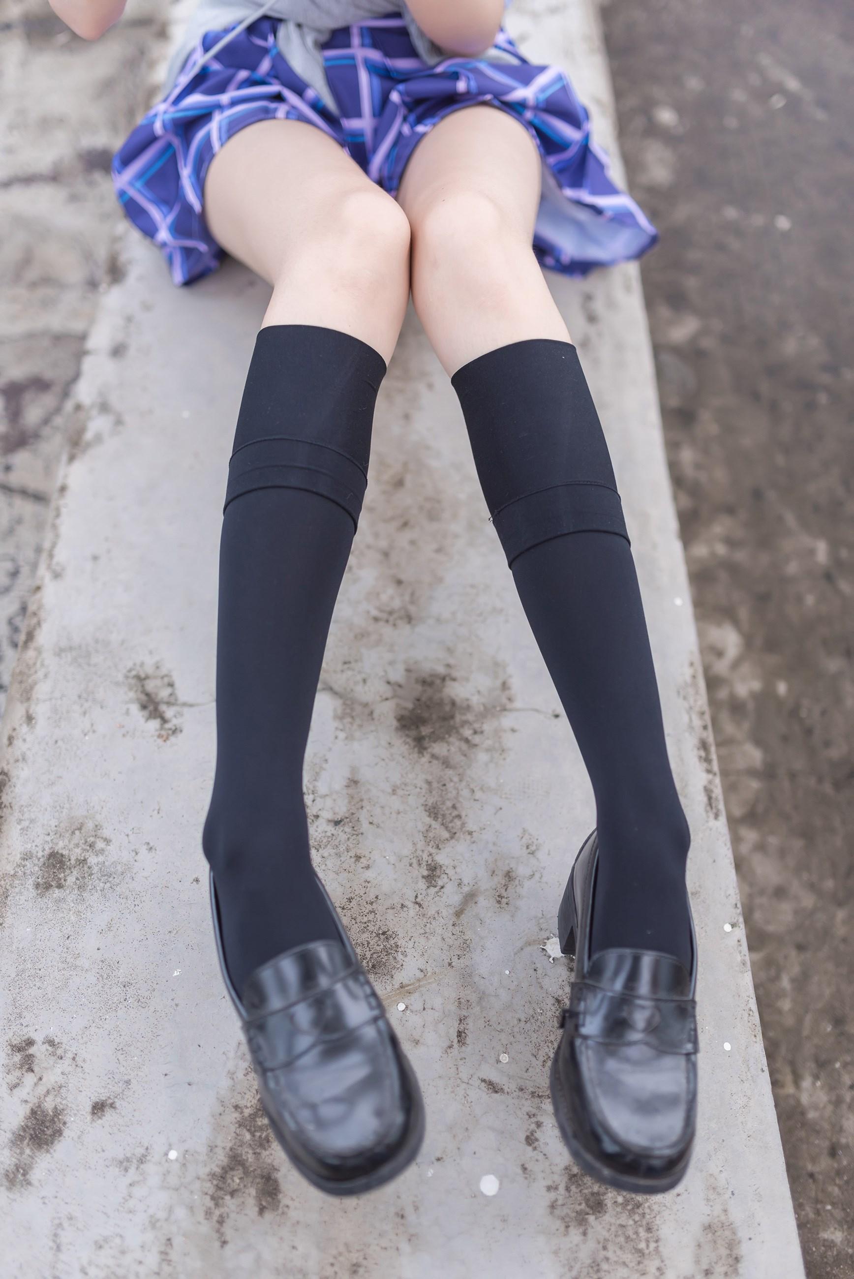 【兔玩映画】天台的蓝裙少女 兔玩映画 第26张