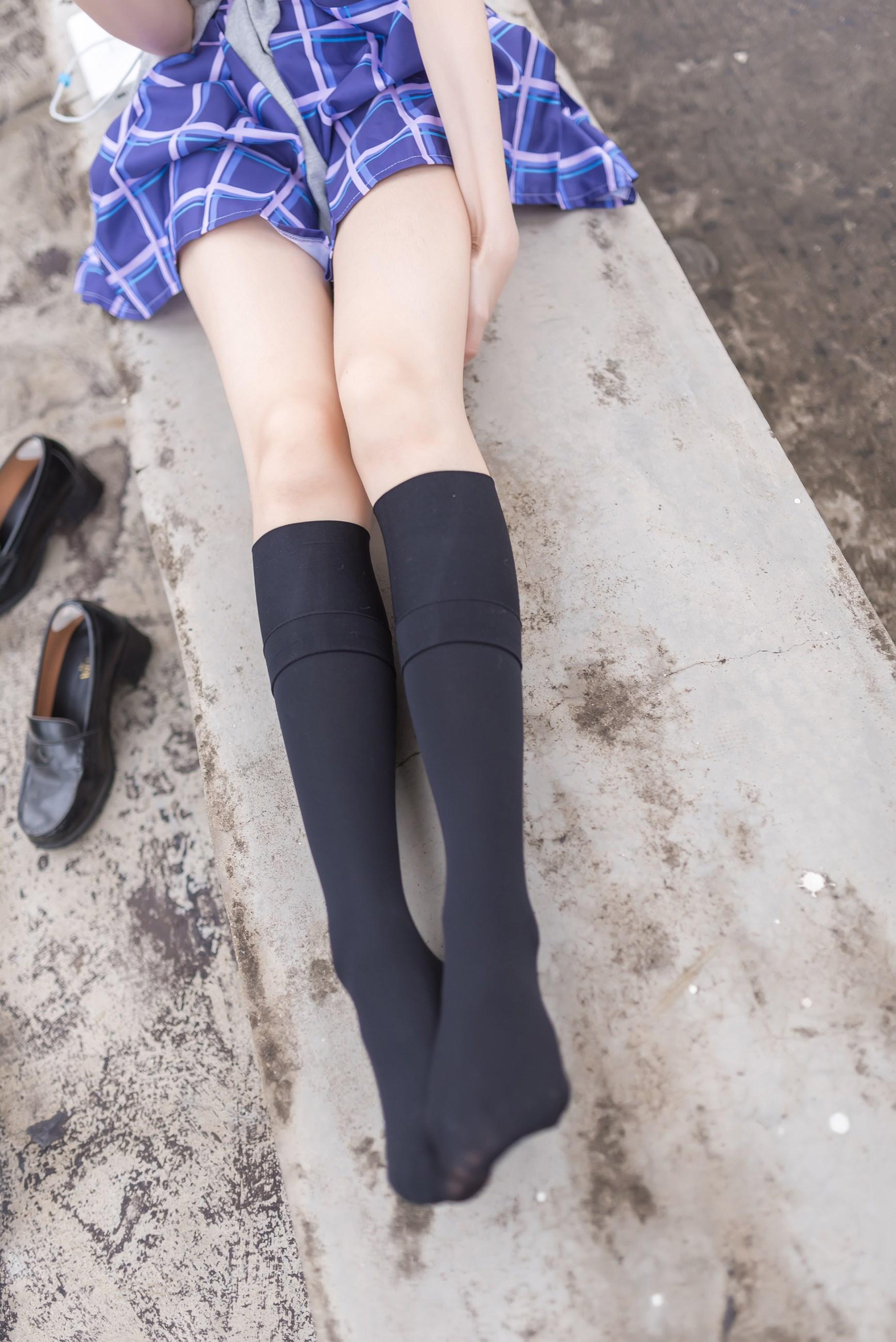 【兔玩映画】天台的蓝裙少女 兔玩映画 第20张