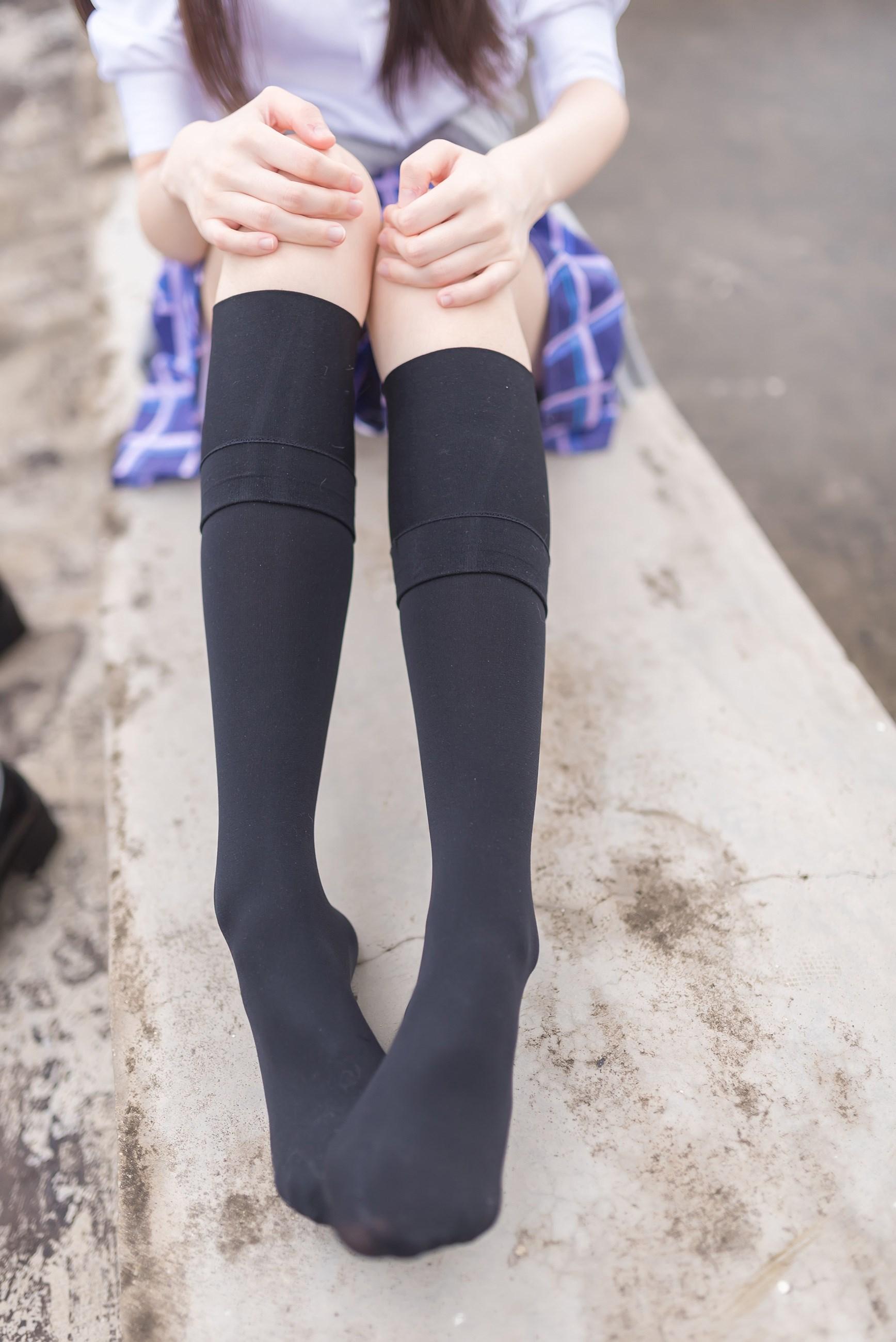 【兔玩映画】天台的蓝裙少女 兔玩映画 第19张