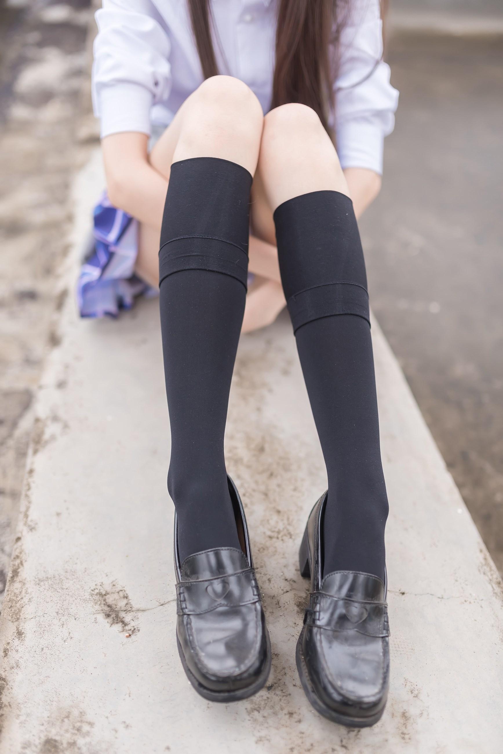 【兔玩映画】天台的蓝裙少女 兔玩映画 第18张