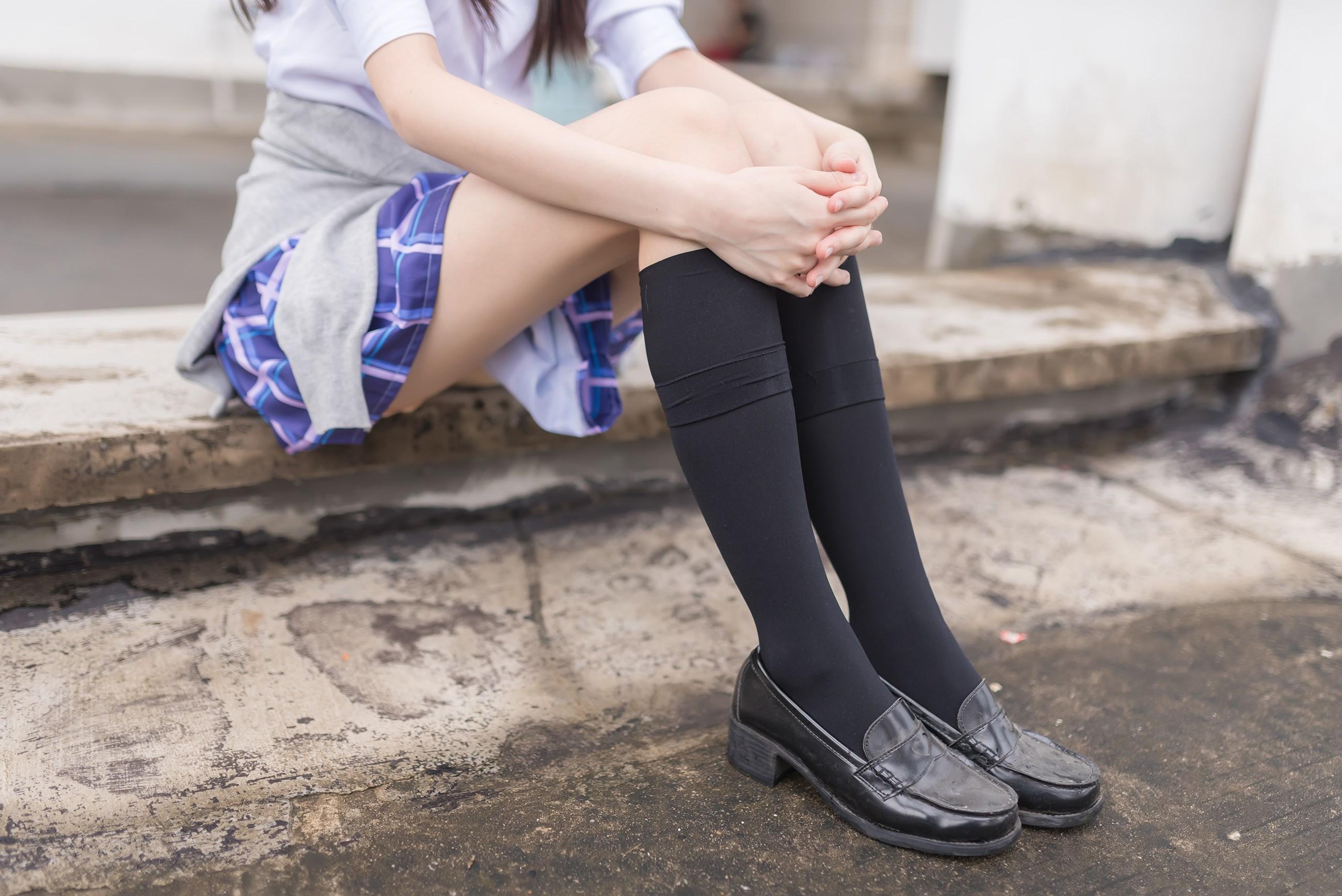 【兔玩映画】天台的蓝裙少女 兔玩映画 第13张